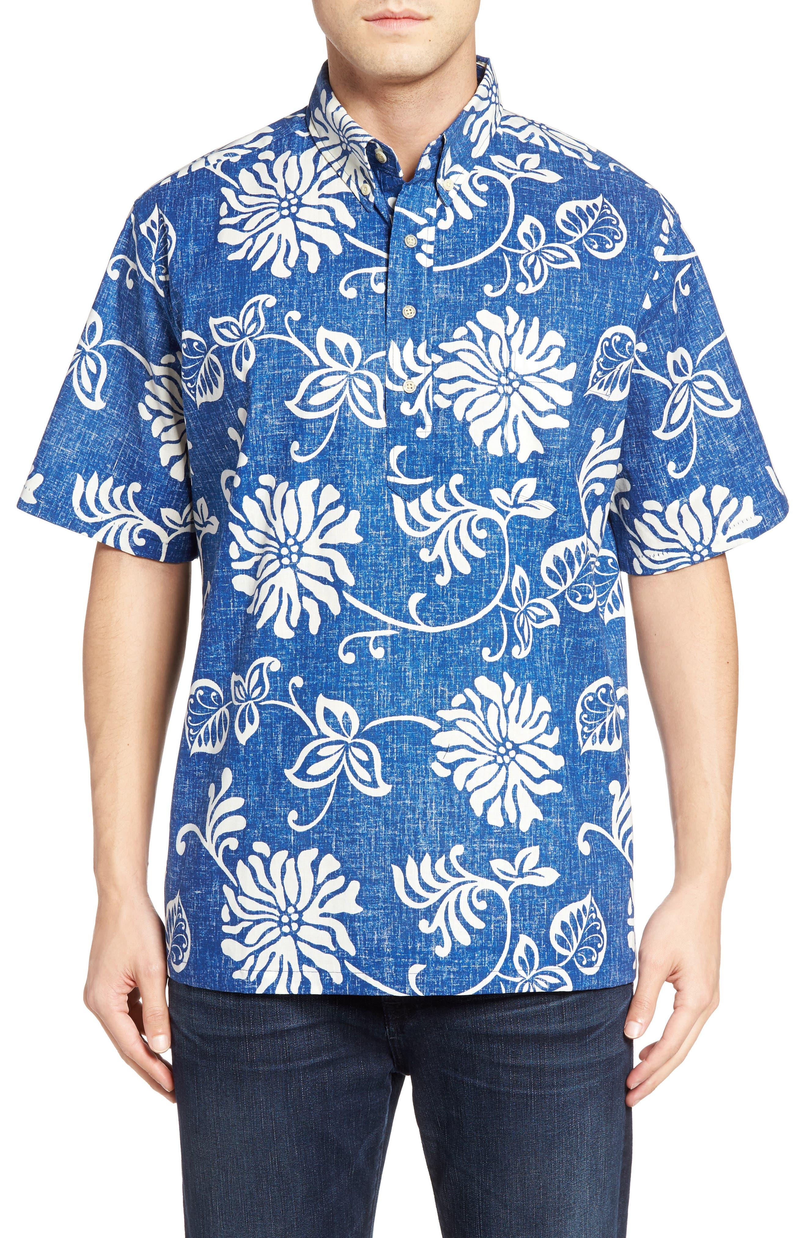 Reyn Spooner Nanea Pullover Sport Shirt