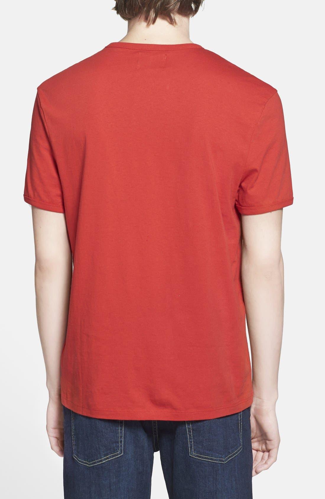 Alternate Image 2  - Topman 'Alright' Jersey T-Shirt (Brit Pop-In) (Nordstrom Exclusive)