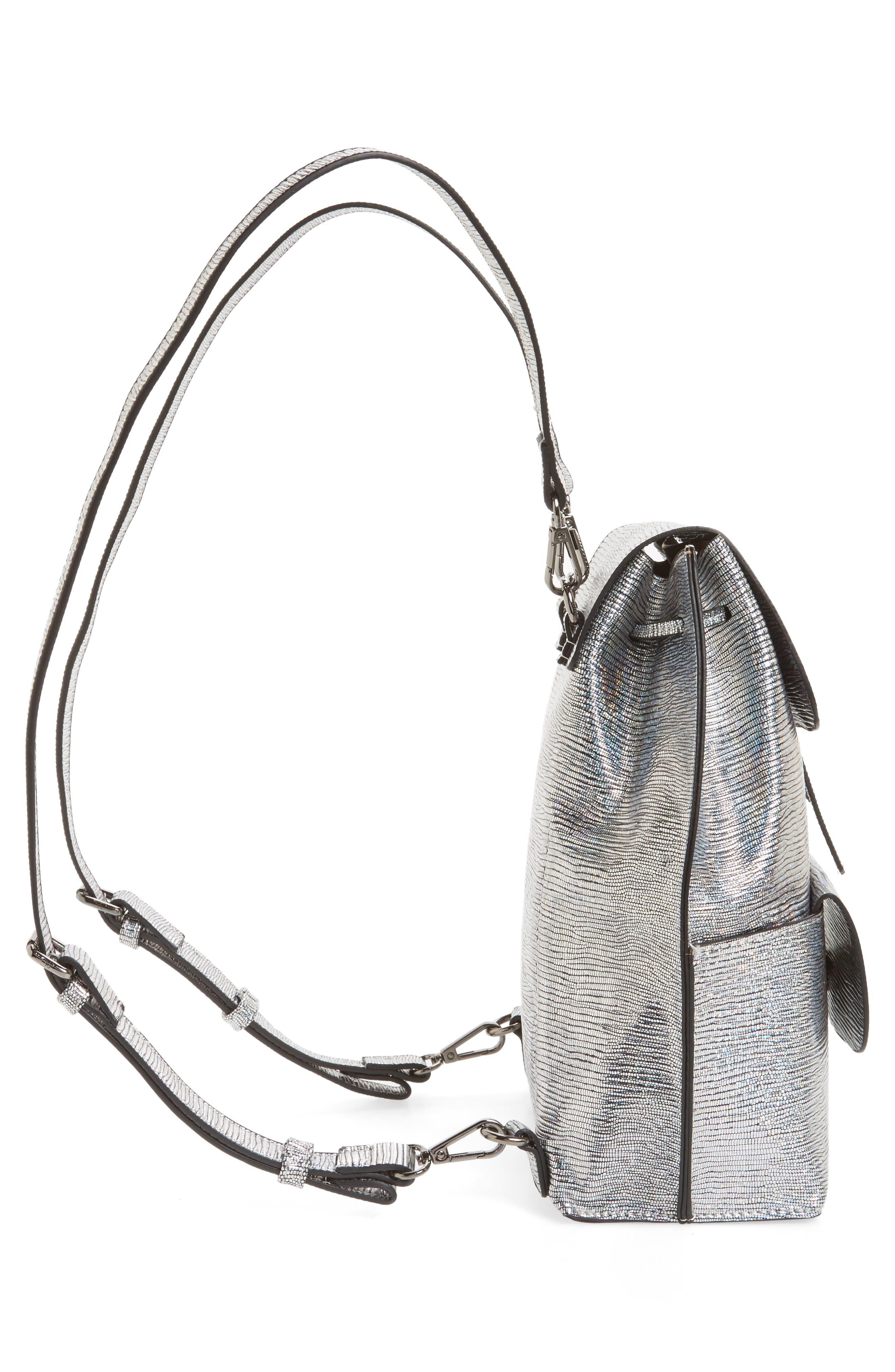 Alternate Image 5  - Street Level Flap Pocket Backpack