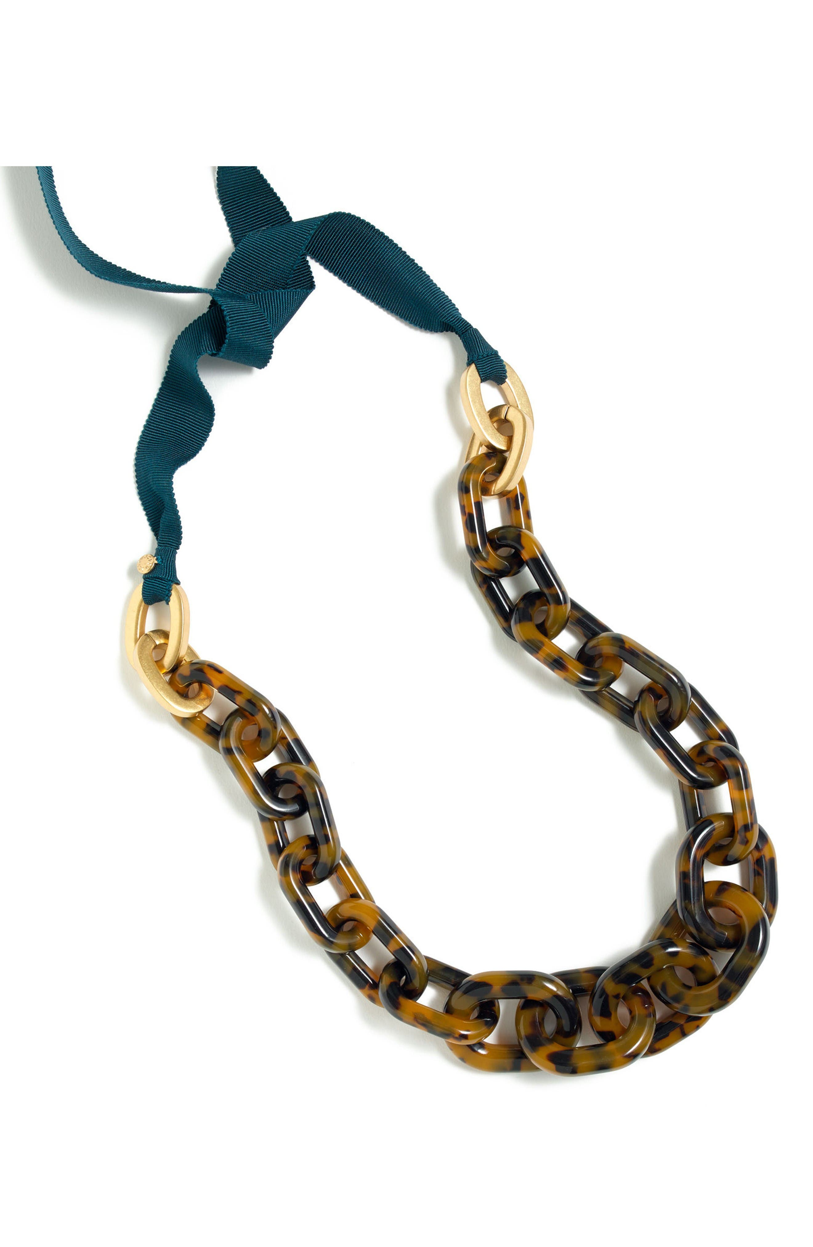 Alternate Image 1 Selected - J.Crew Lucite® Link Necklace