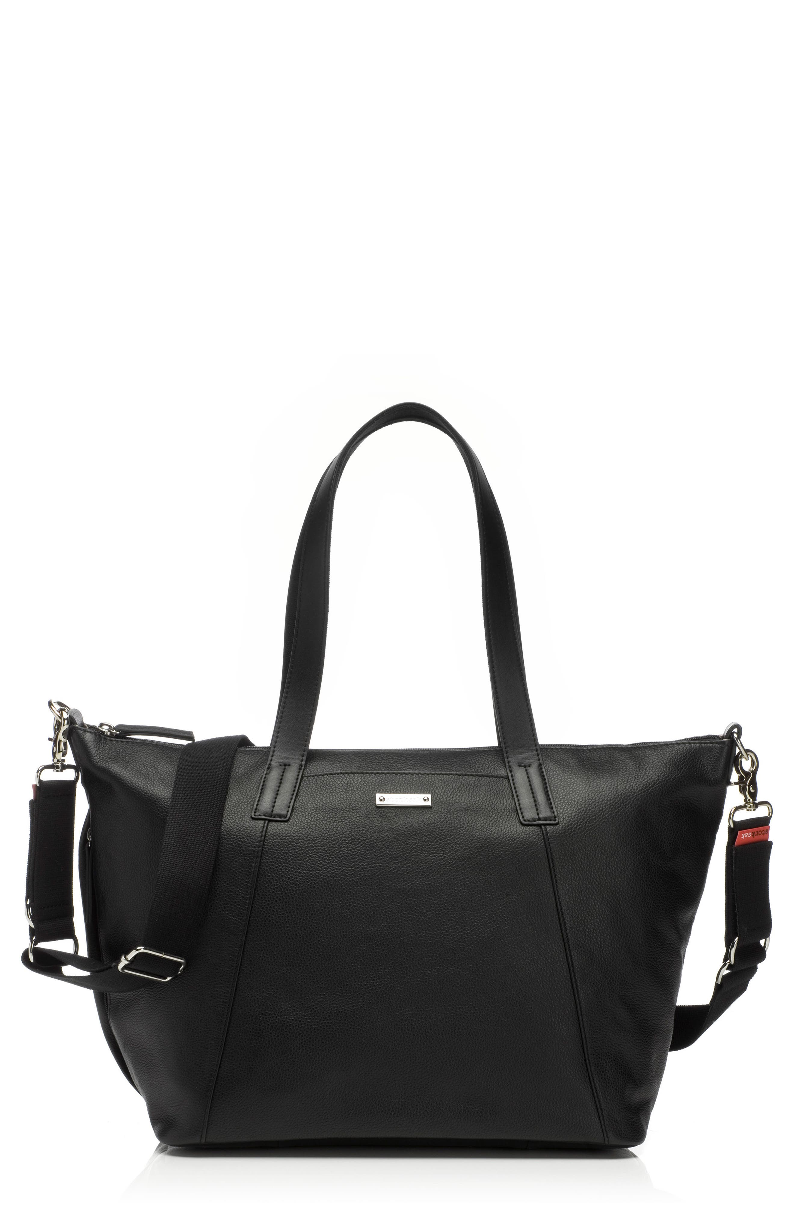 Storksak NOA Leather Diaper Bag