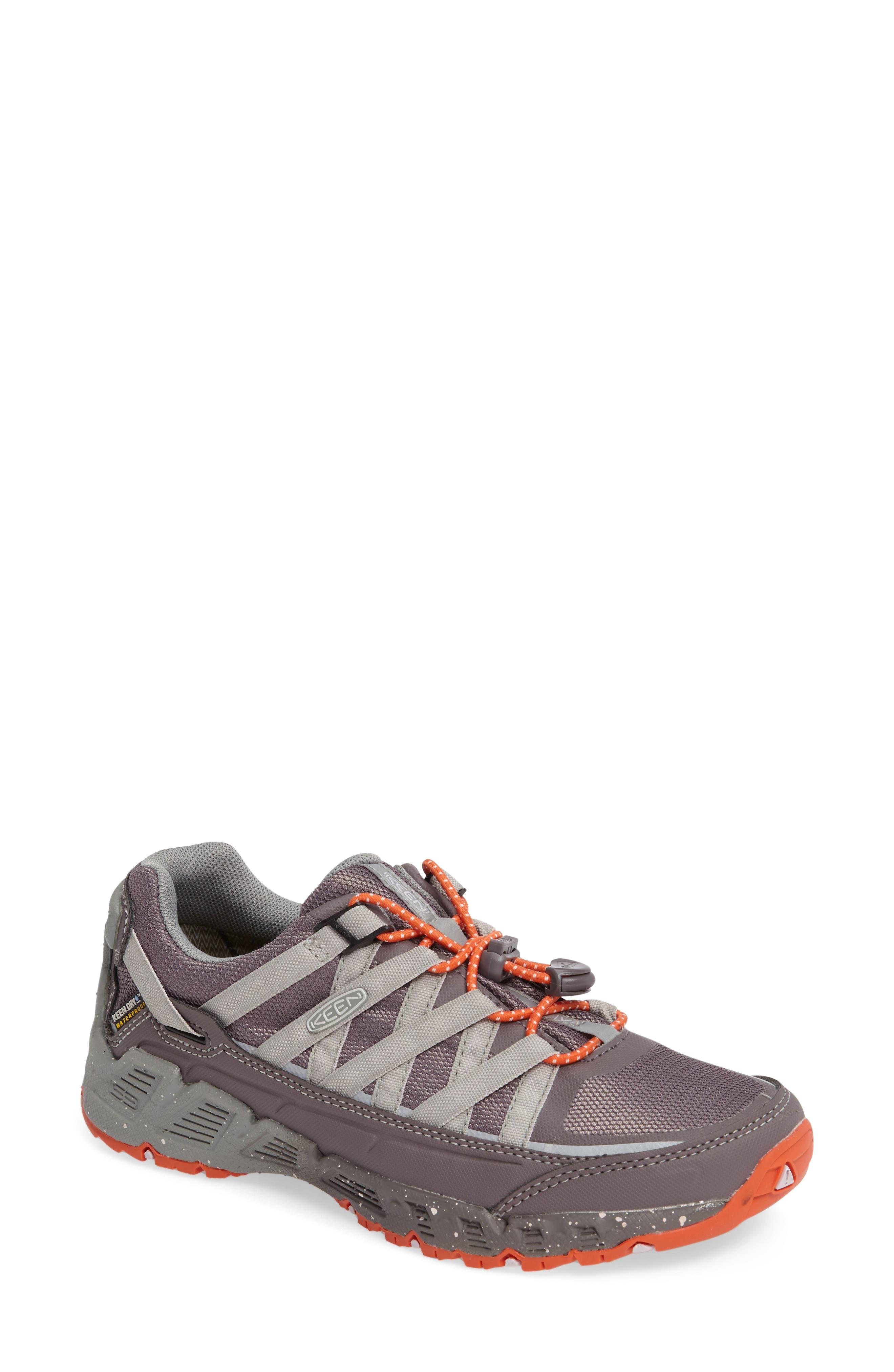 Alternate Image 1 Selected - Keen 'Versatrail' Waterproof Hiking Shoe (Women)