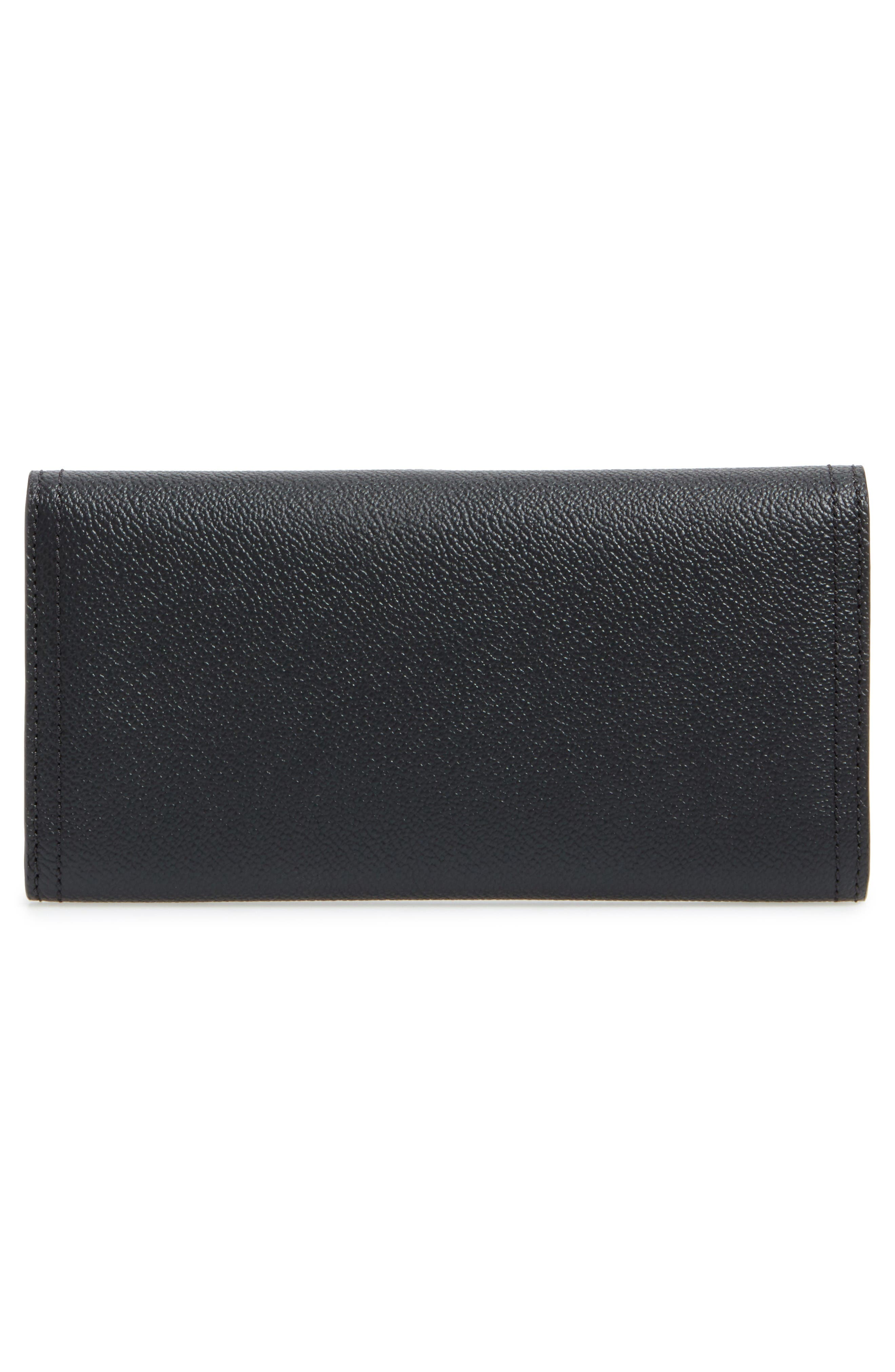 Alternate Image 3  - Burberry Ashton Leather Continental Wallet