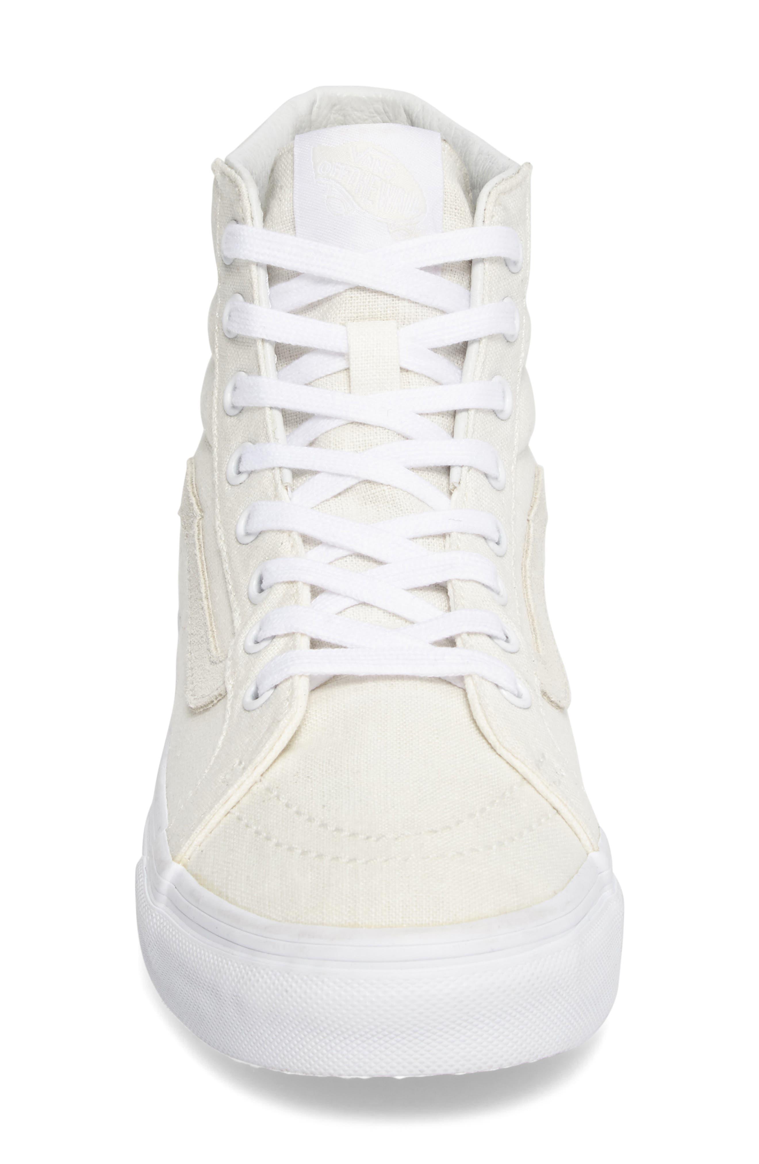 Alternate Image 4  - Vans Sk8-Hi Slim Sneaker (Women)