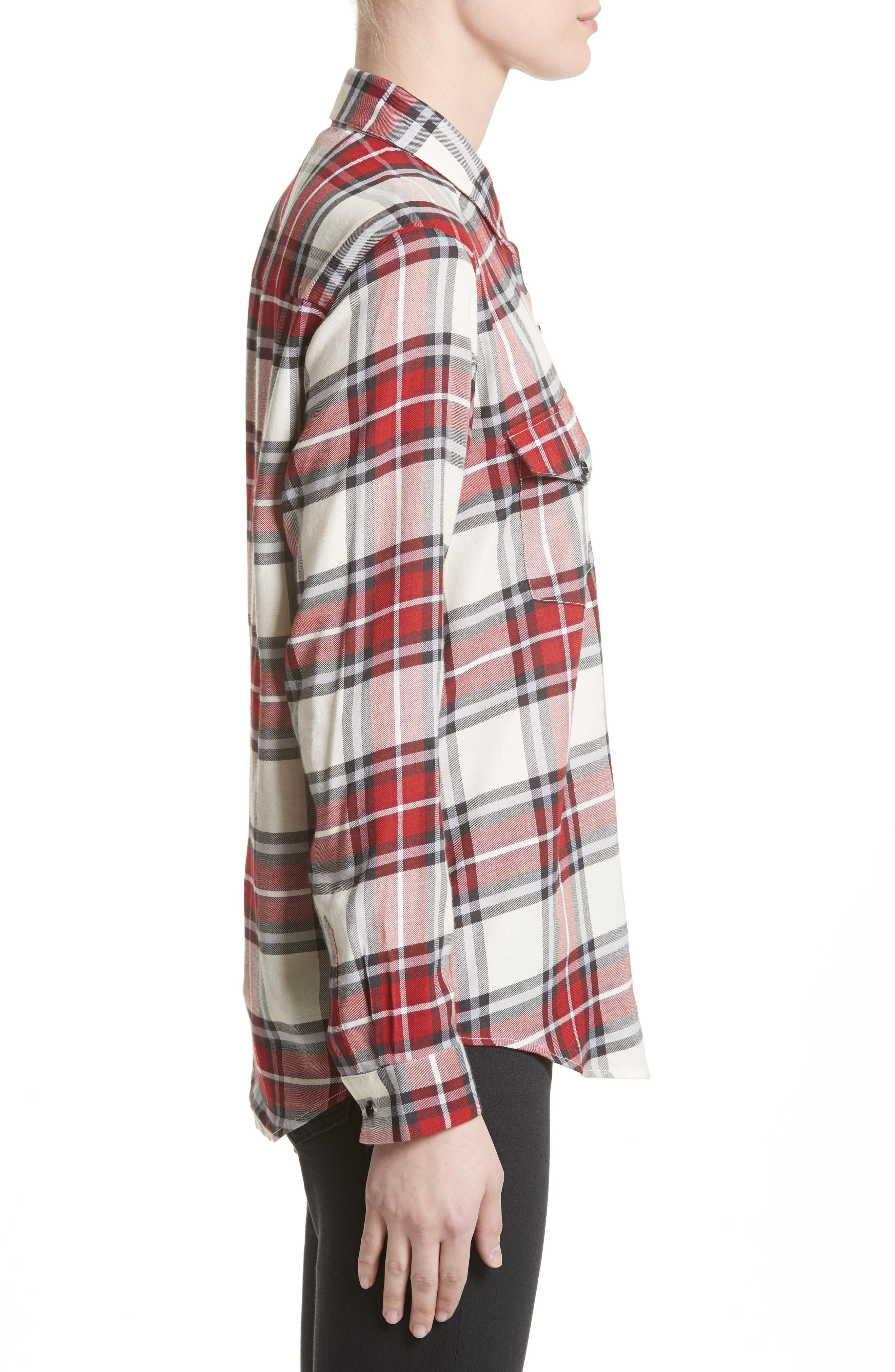 Alternate Image 3  - The Kooples Plaid Flannel Shirt