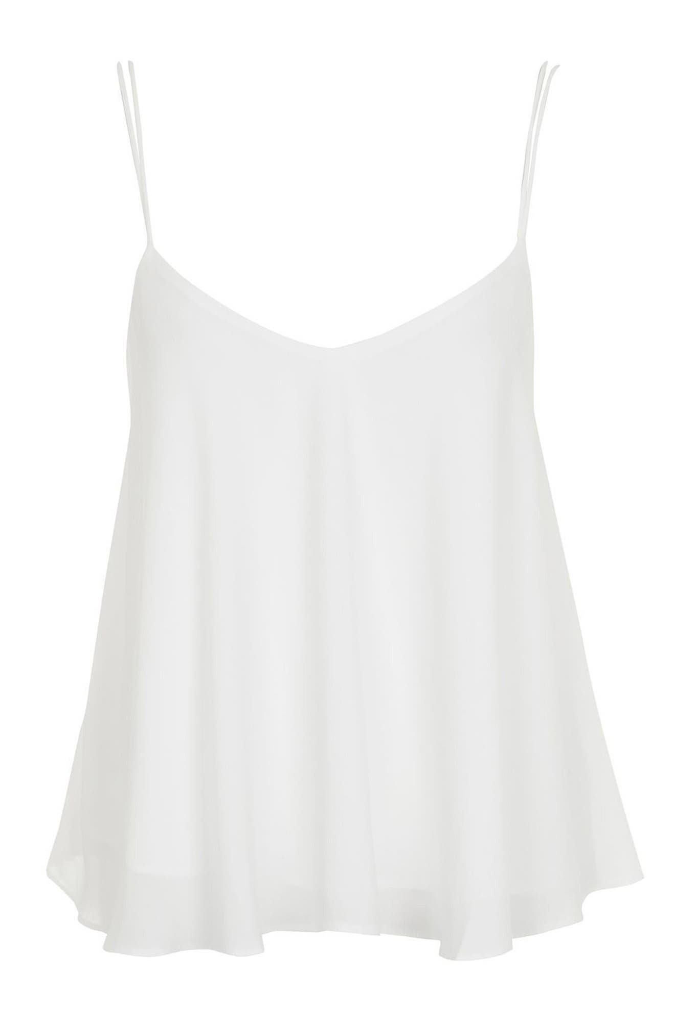 Alternate Image 4  - Topshop Rouleau Swing Camisole (Regular & Petite)