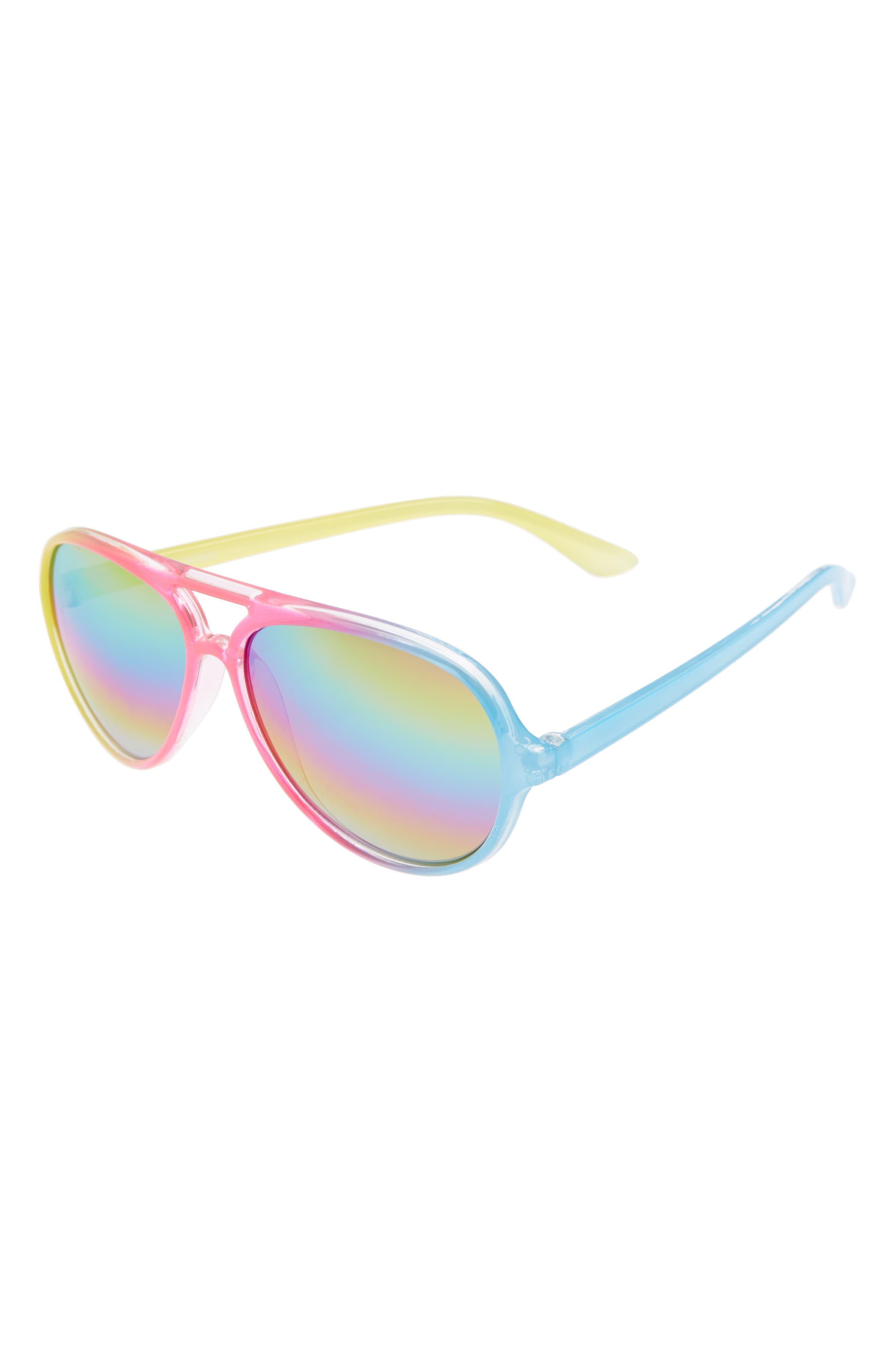 Loose Leaf Eyewear Rainbow Carrera Aviator Sunglasses (Baby)