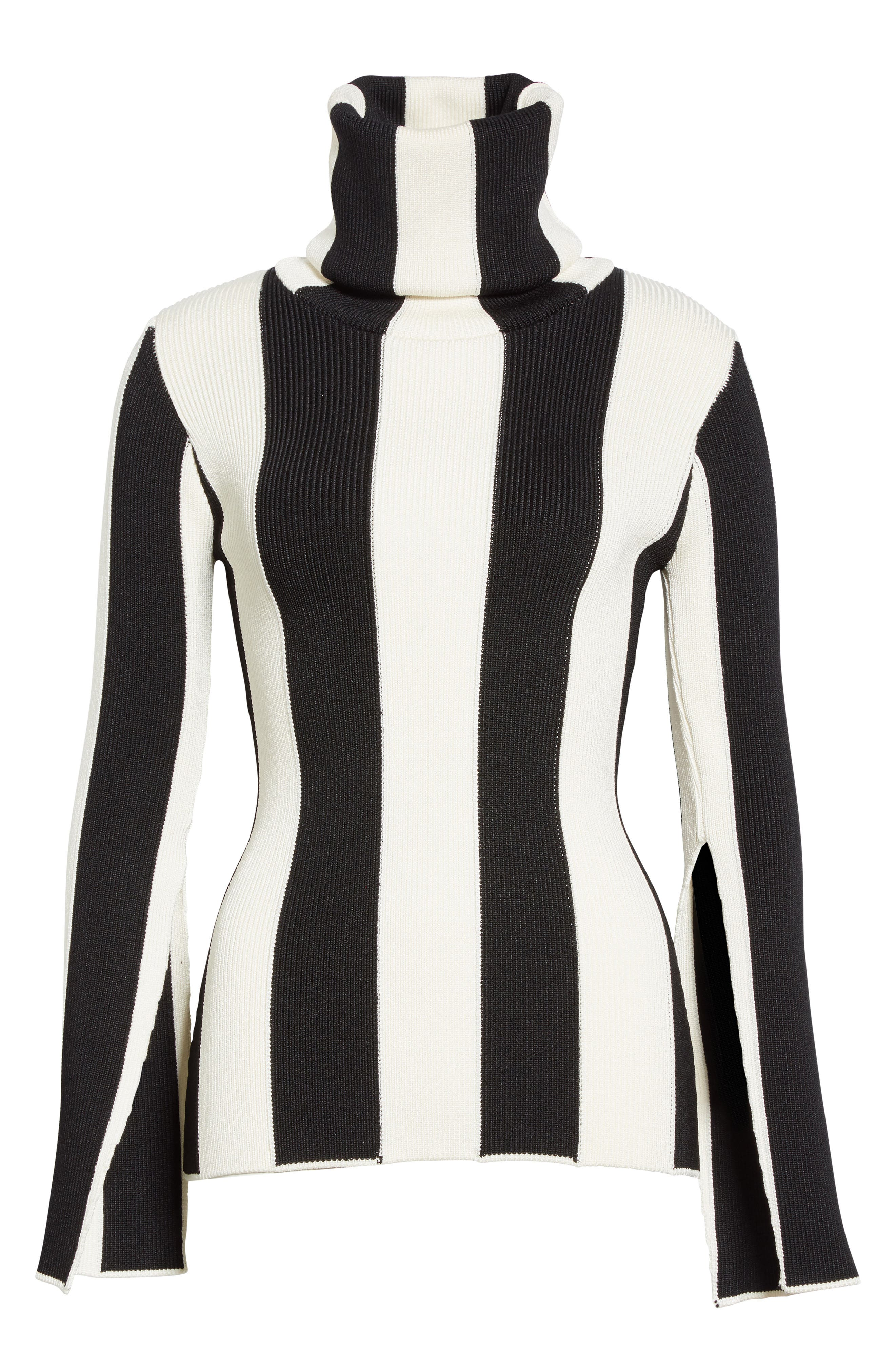 Alternate Image 4  - Monse Stripe Turtleneck