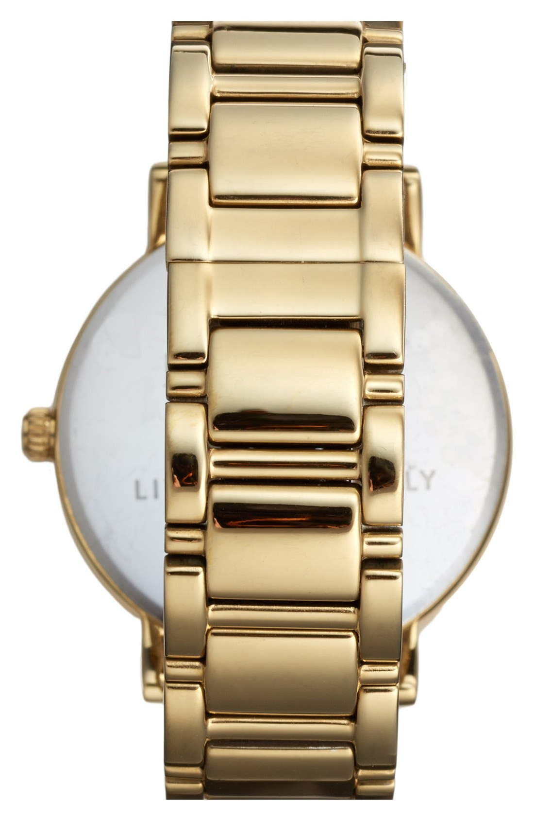 Alternate Image 2  - kate spade new york 'gramercy' round bracelet watch, 38mm
