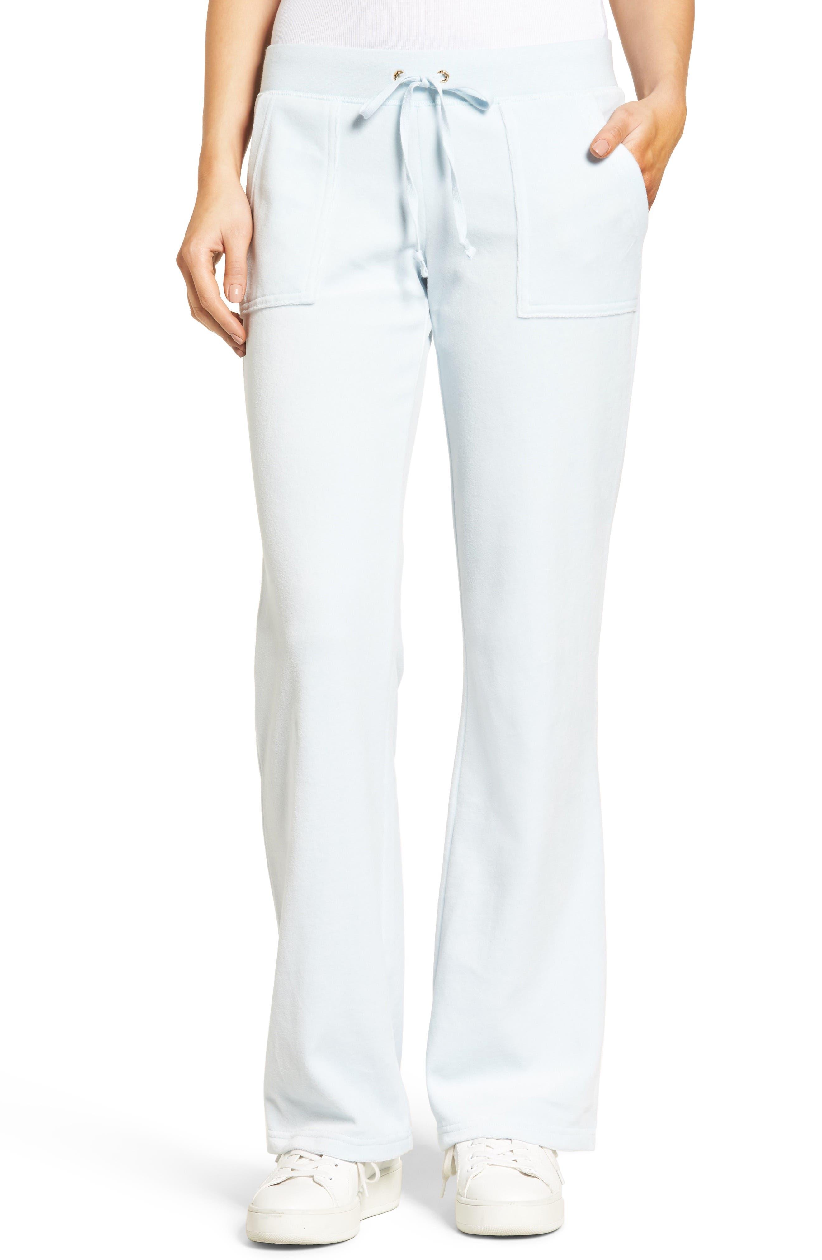Juicy Couture Del Rey Velour Track Pants