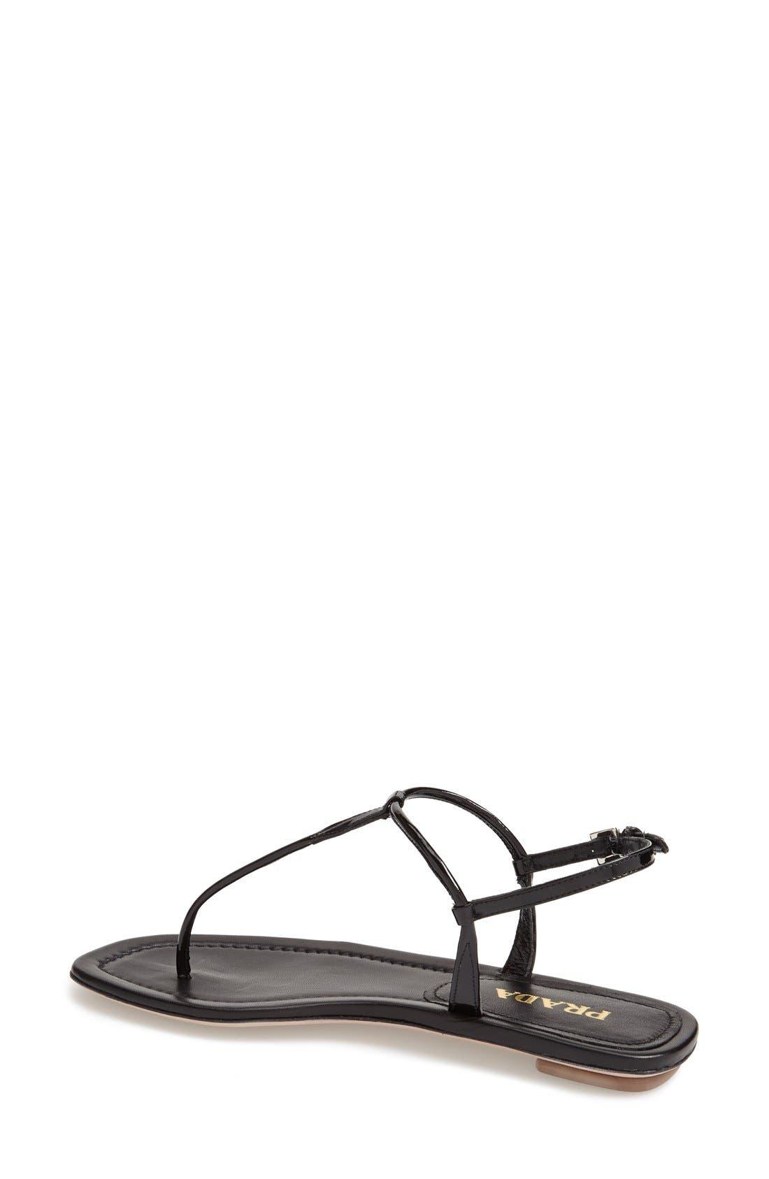 Alternate Image 2  - Prada T-Strap Thong Sandal
