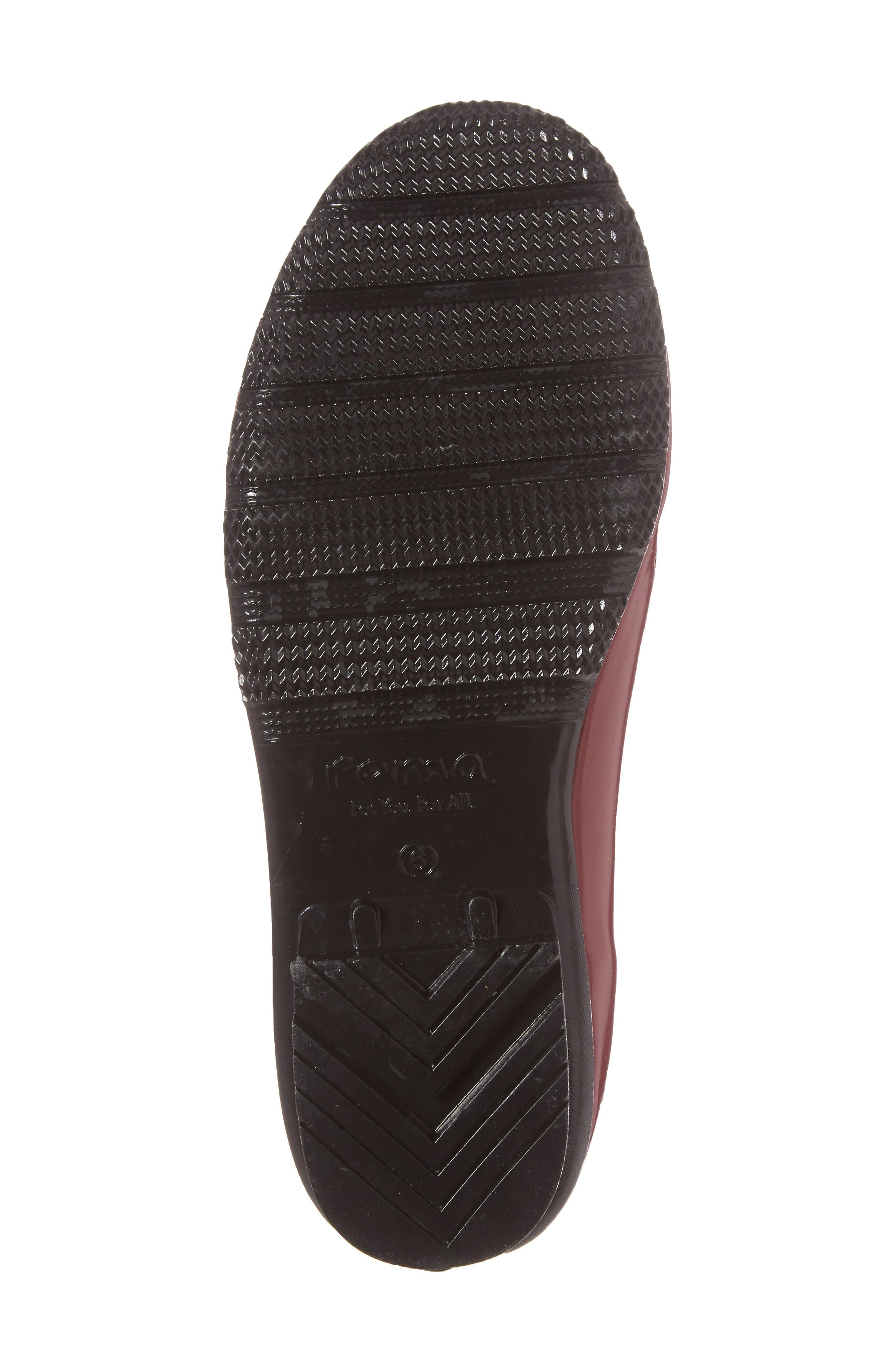 Alternate Image 5  - roma Waterproof Chelsea Rain Boot (Women)