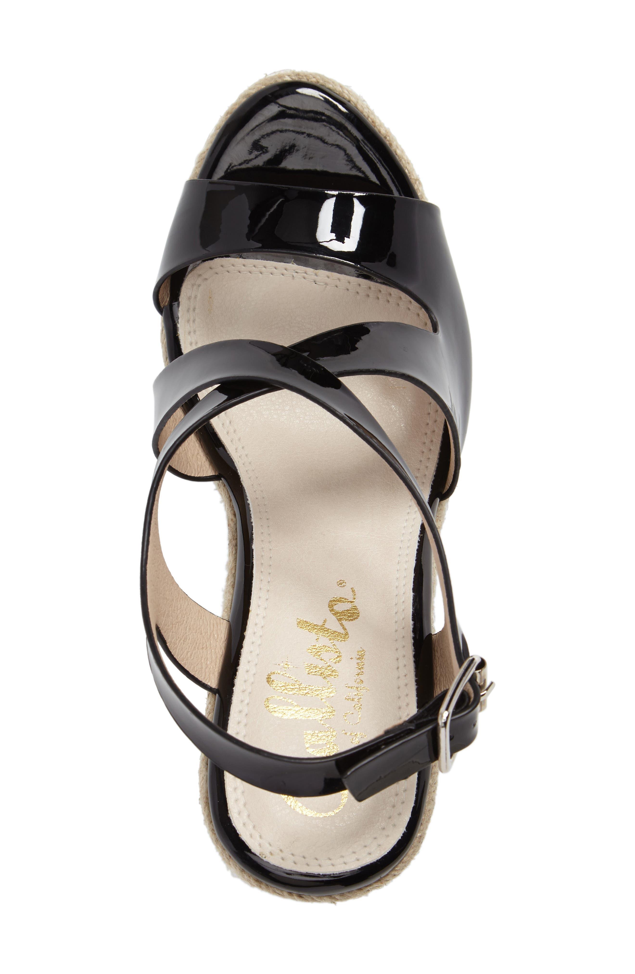 Alternate Image 5  - Callisto Brielle Wedge Sandal (Women)