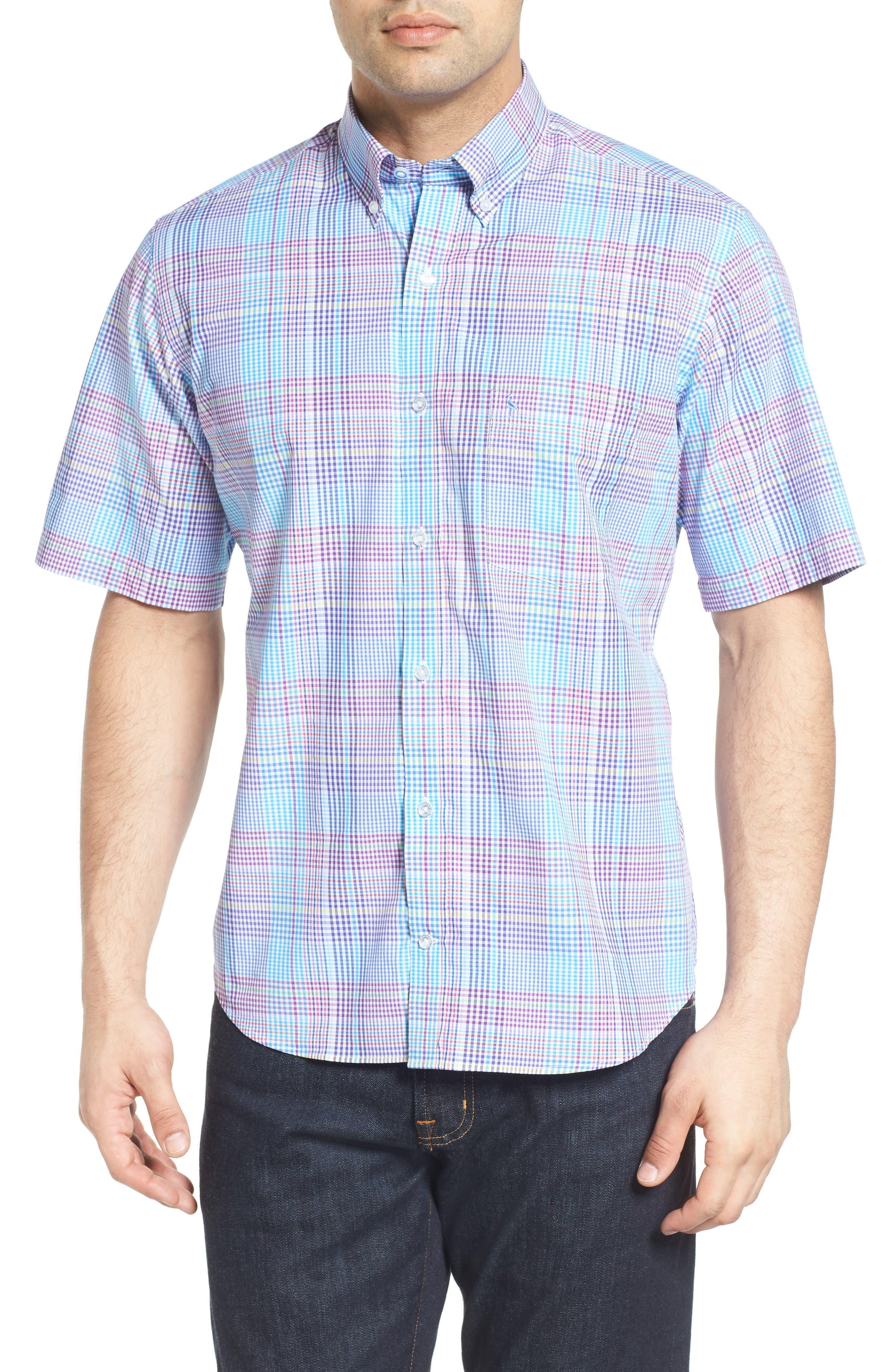Tailorbyrd Hemlock Plaid Sport Shirt (Big & Tall)