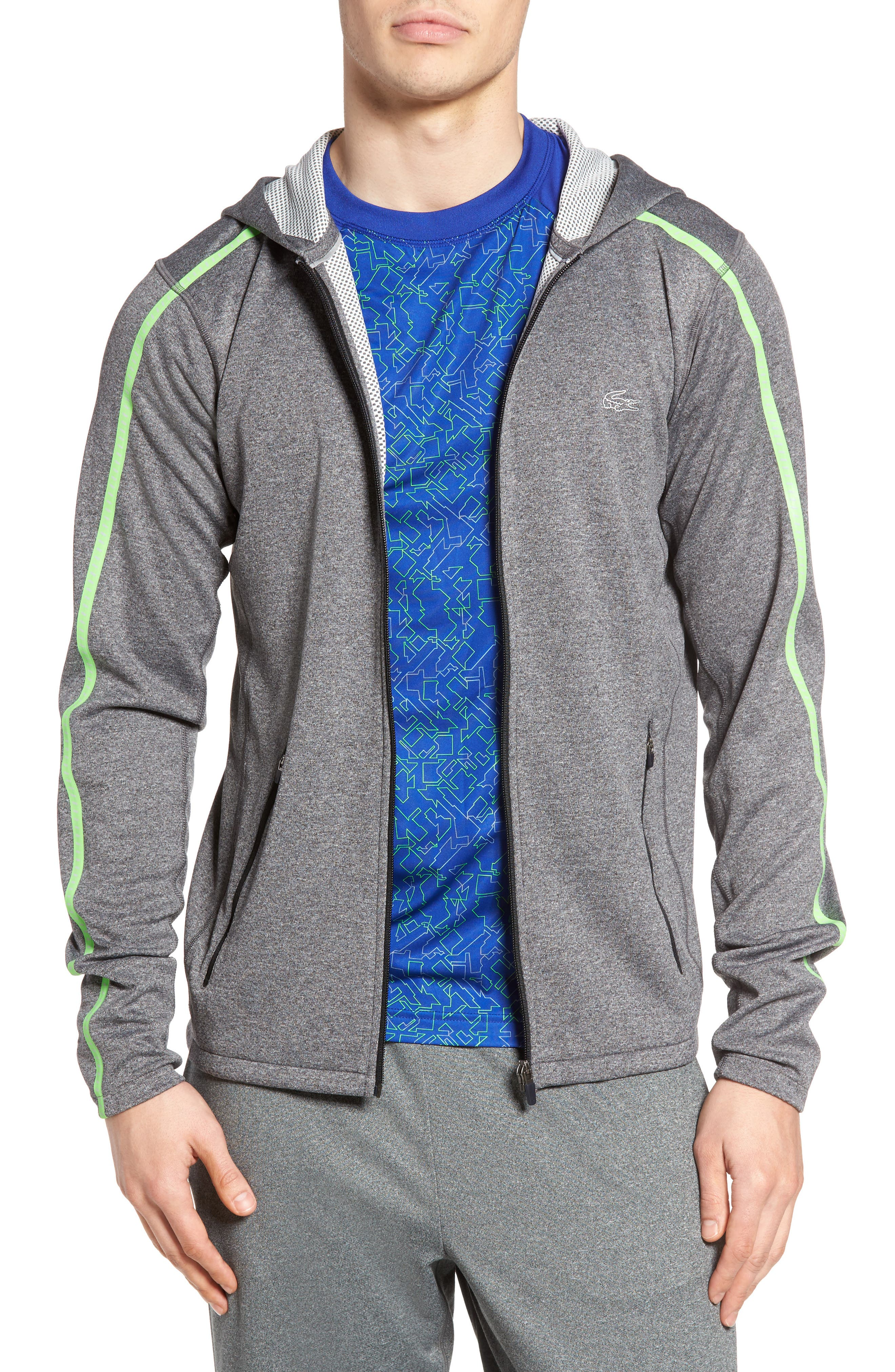 Lacoste Double Face Performance Zip Hoodie