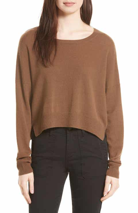 Vince Crop Cashmere Sweater