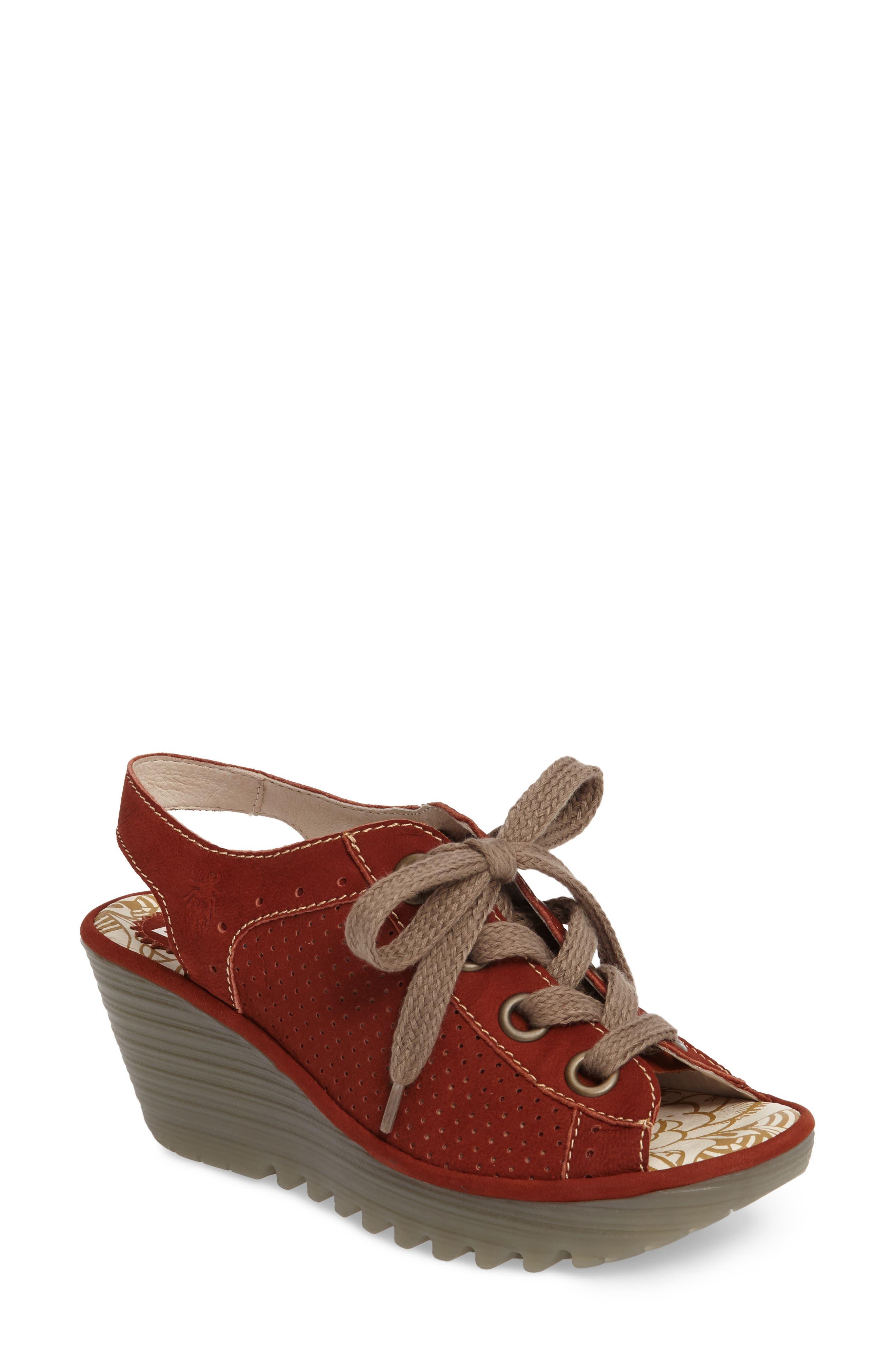 Fly London 'Yuta' Platform Wedge Sandal (Women)