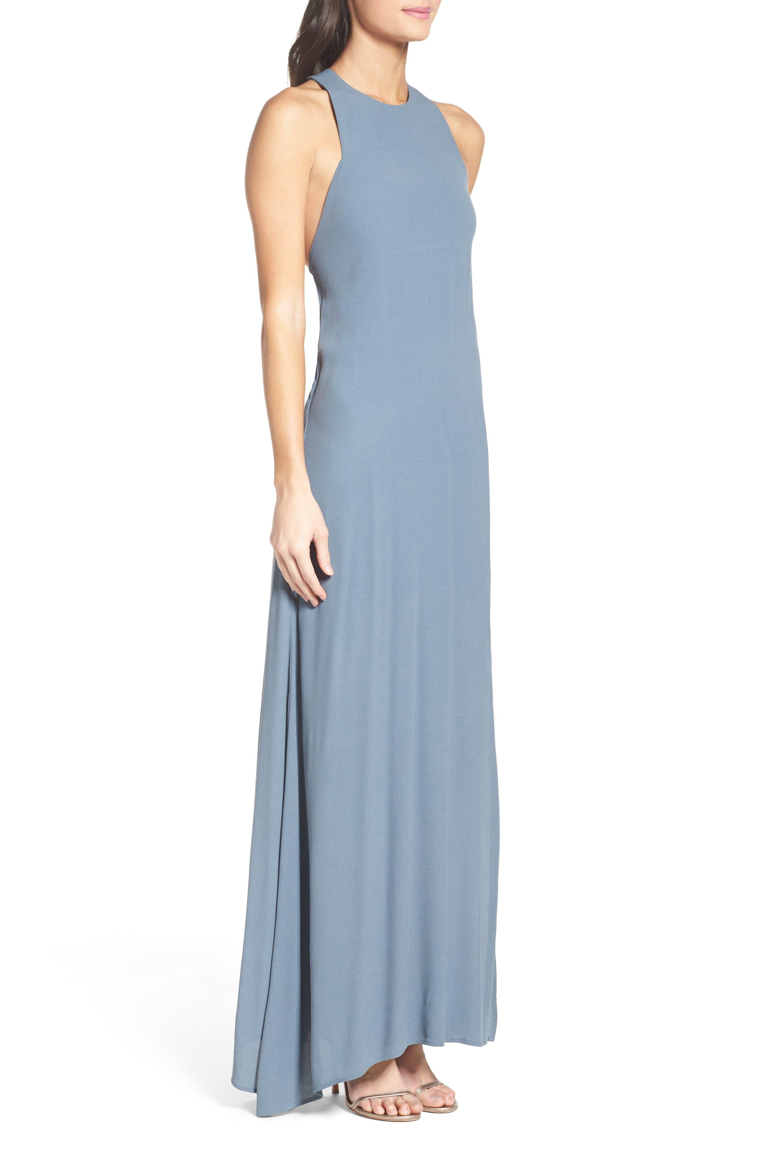 Alternate Image 3  - Roe + May Bordeaux Crepe Dress