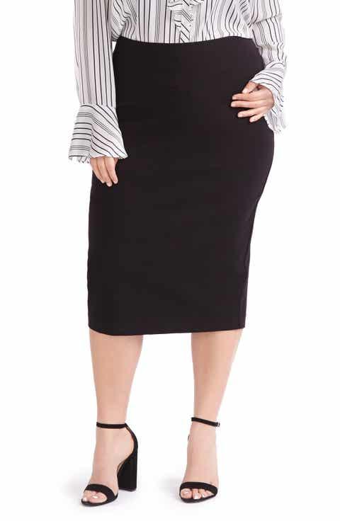 MICHEL STUDIO Pencil Skirt (Plus Size)