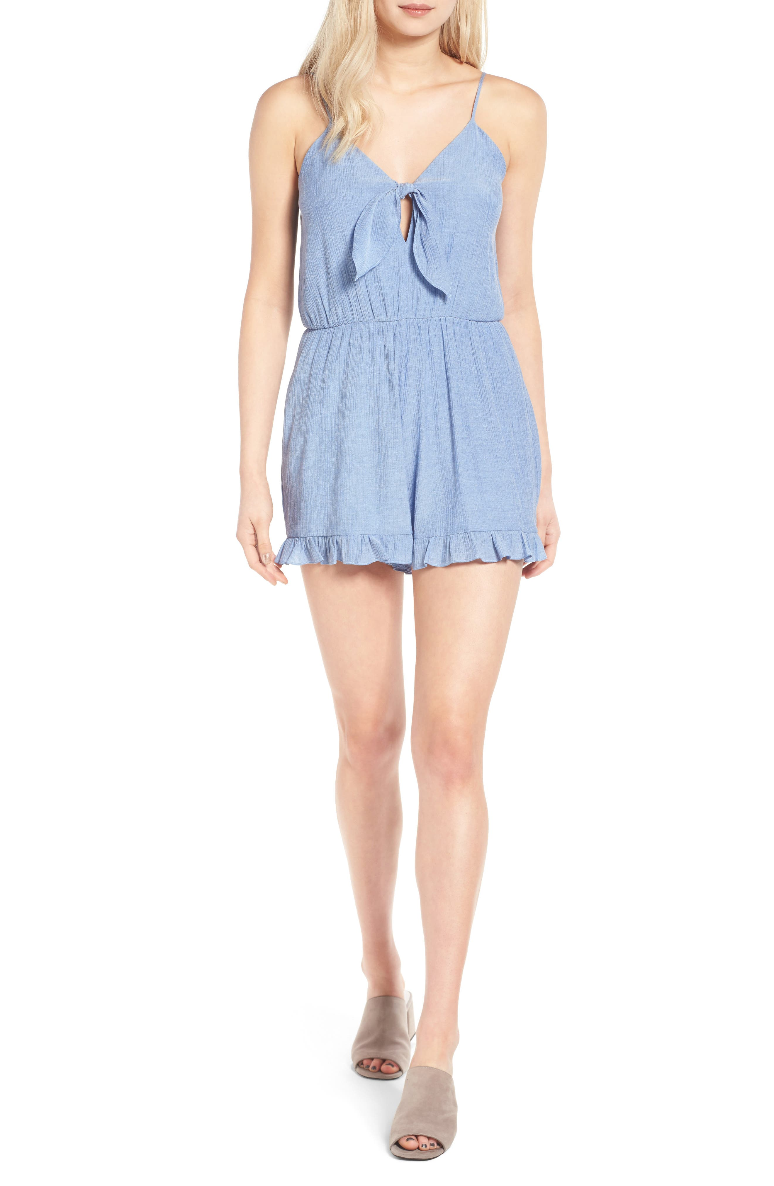 Everly Tie Front Romper