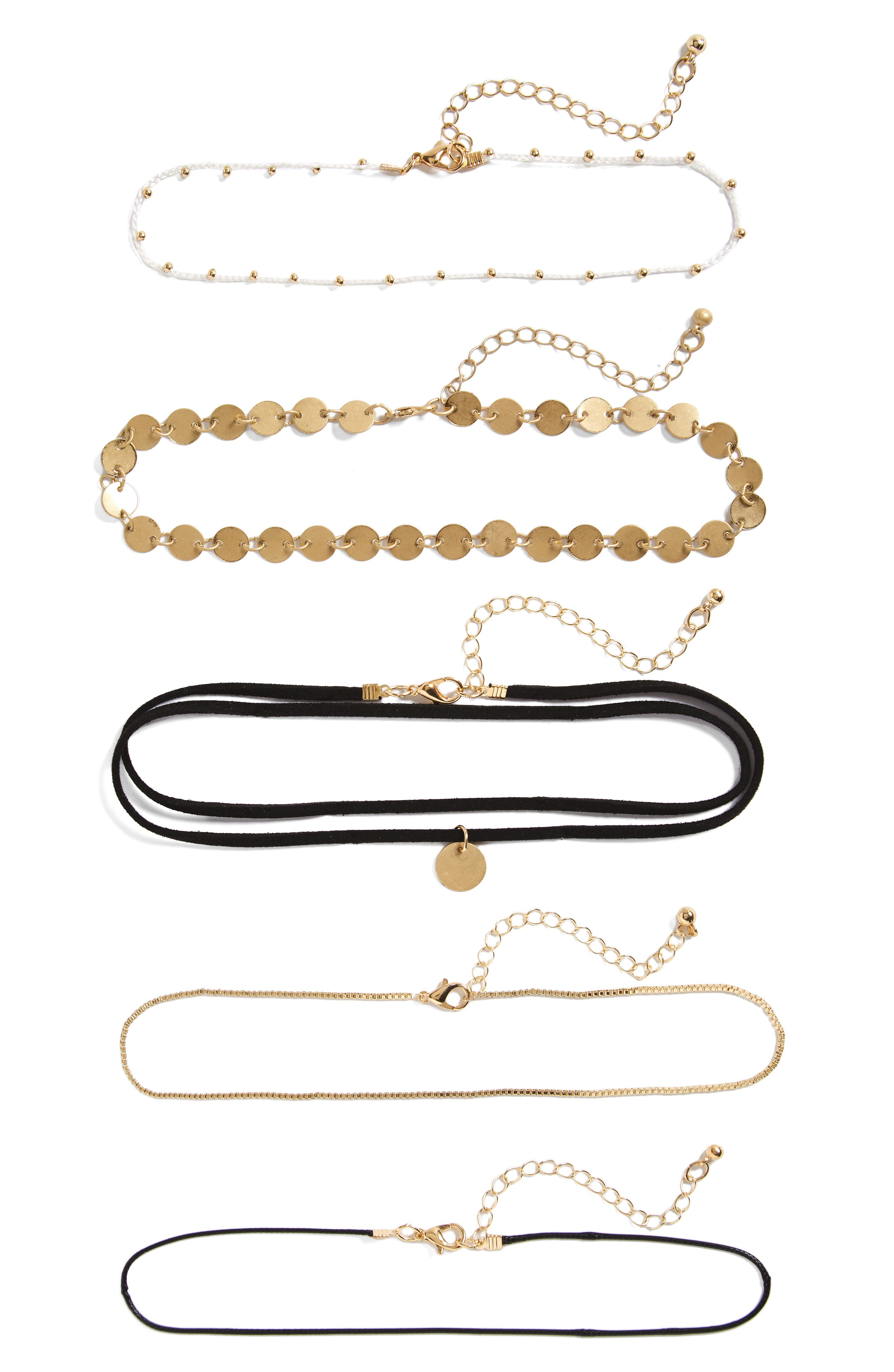 BP. 5-Pack Boho Chokers