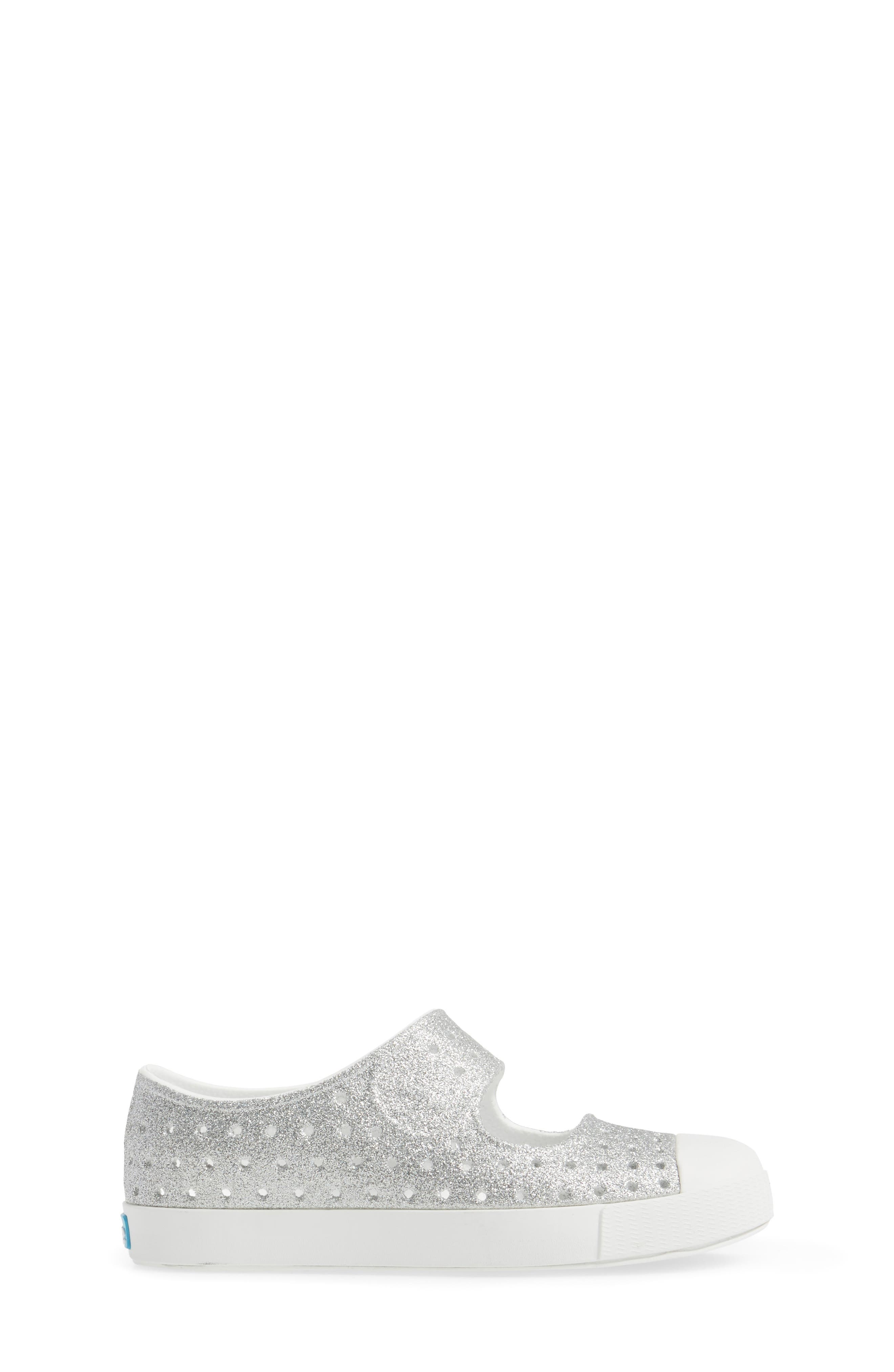Alternate Image 3  - Native Shoes Juniper Bling Perforated Mary Jane (Baby, Walker, Toddler & Little Kid)