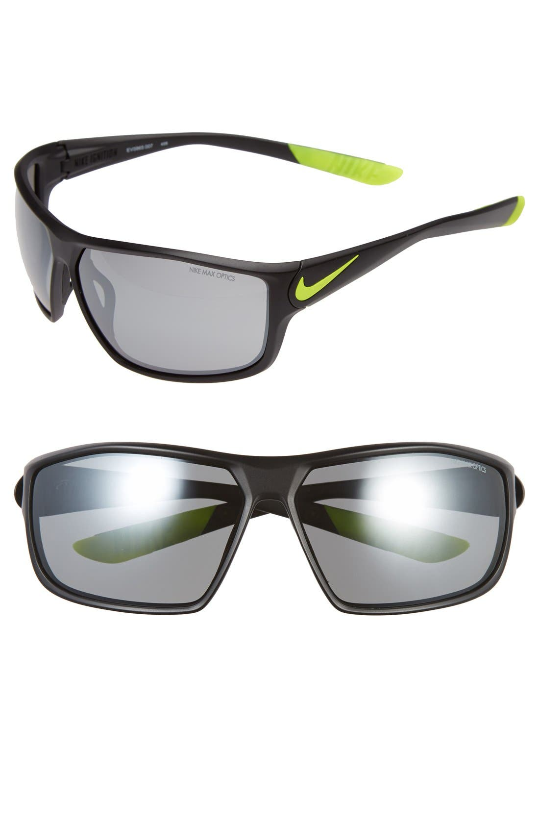 Alternate Image 1 Selected - Nike 'Ignition' 68mm Sunglasses