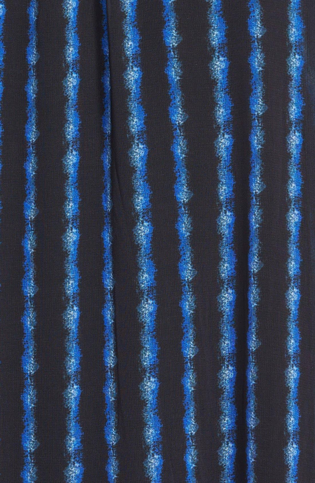 Alternate Image 3  - Max & Mia Knit Waistband Print Maxi Skirt