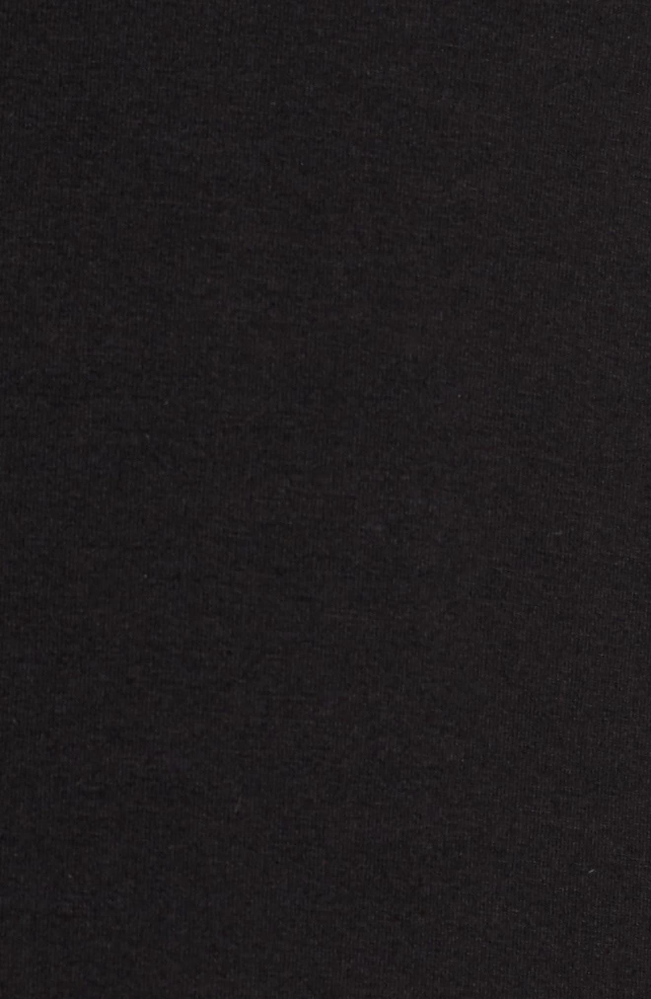 Alternate Image 6  - Vince Camuto Tipped Bell Sleeve Top (Regular & Petite)