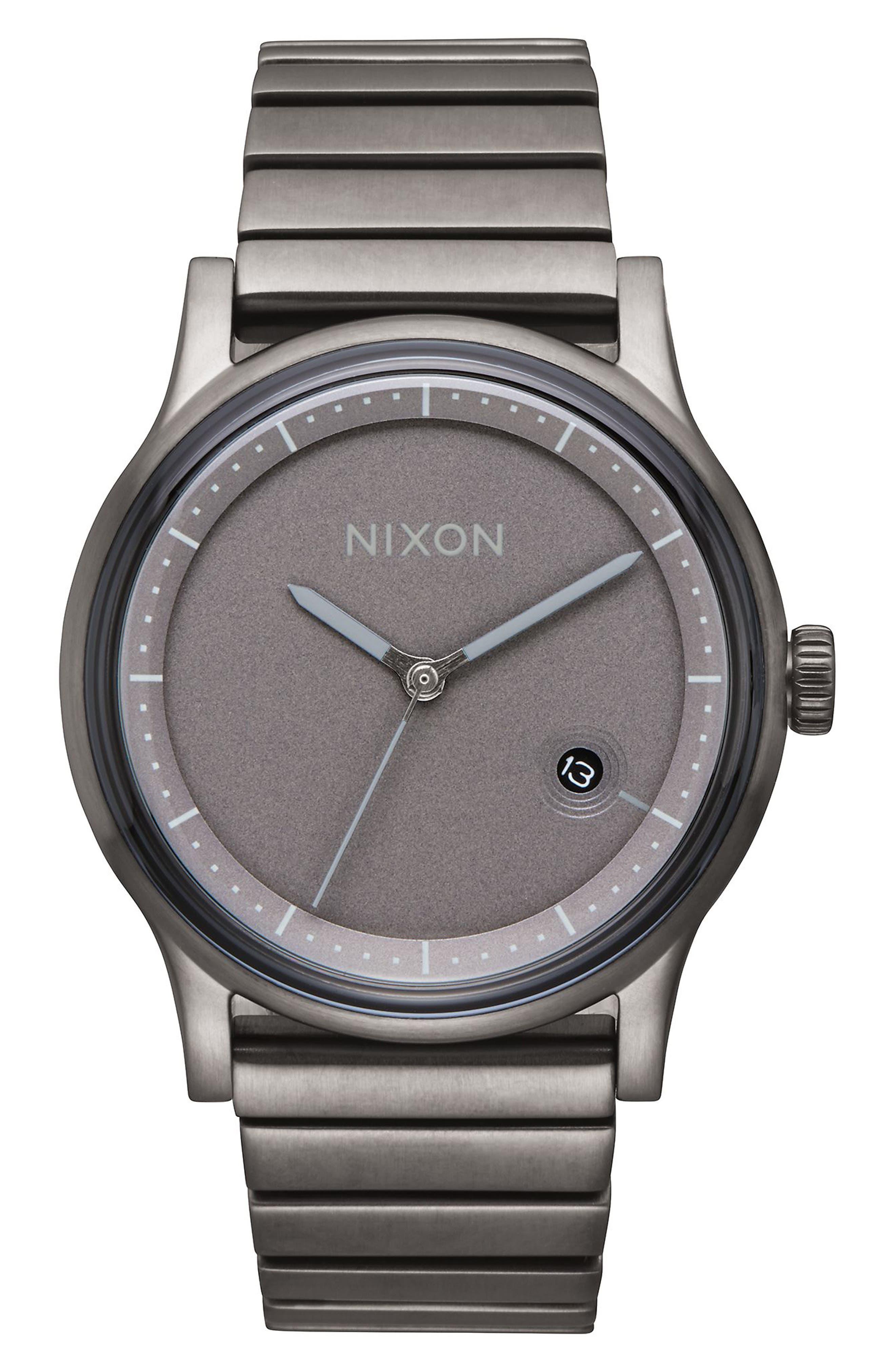 Nixon Station Bracelet Watch, 41mm
