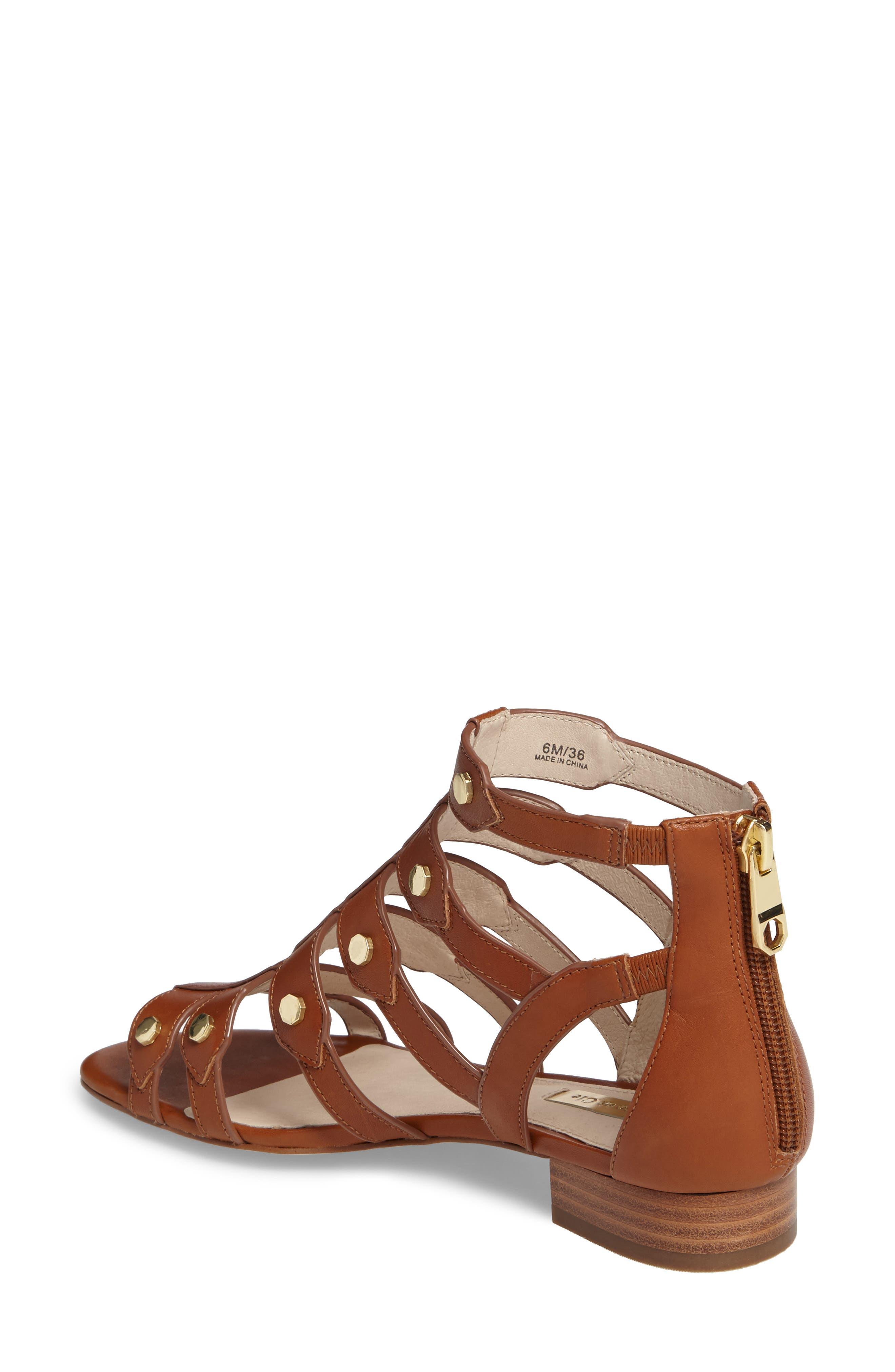 Alternate Image 2  - Louise et Cie Aria Studded Gladiator Sandal (Women)