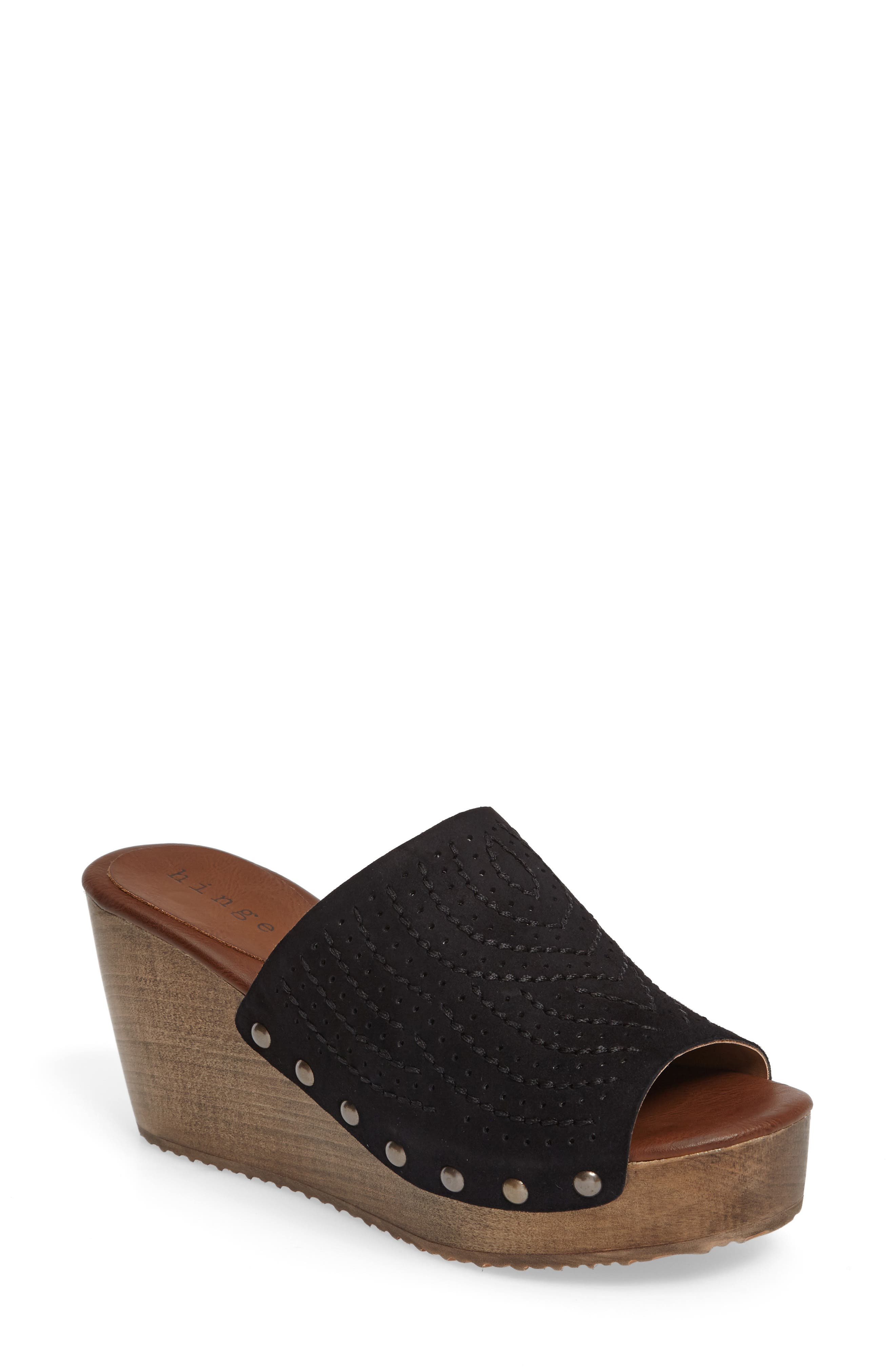 Hinge Agitha Platform Wedge Sandal (Women)