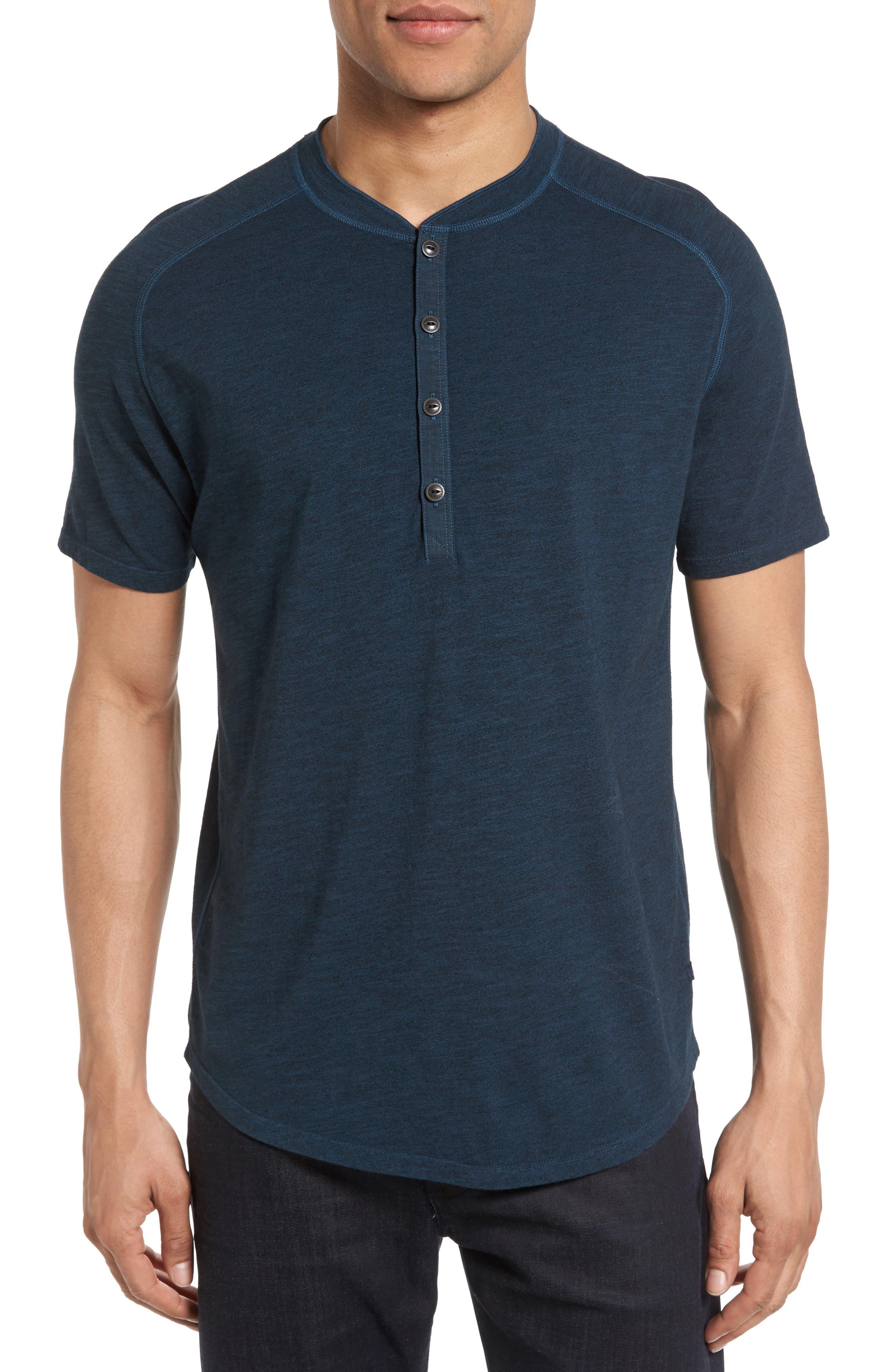 Good Man Brand Short Sleeve Henley
