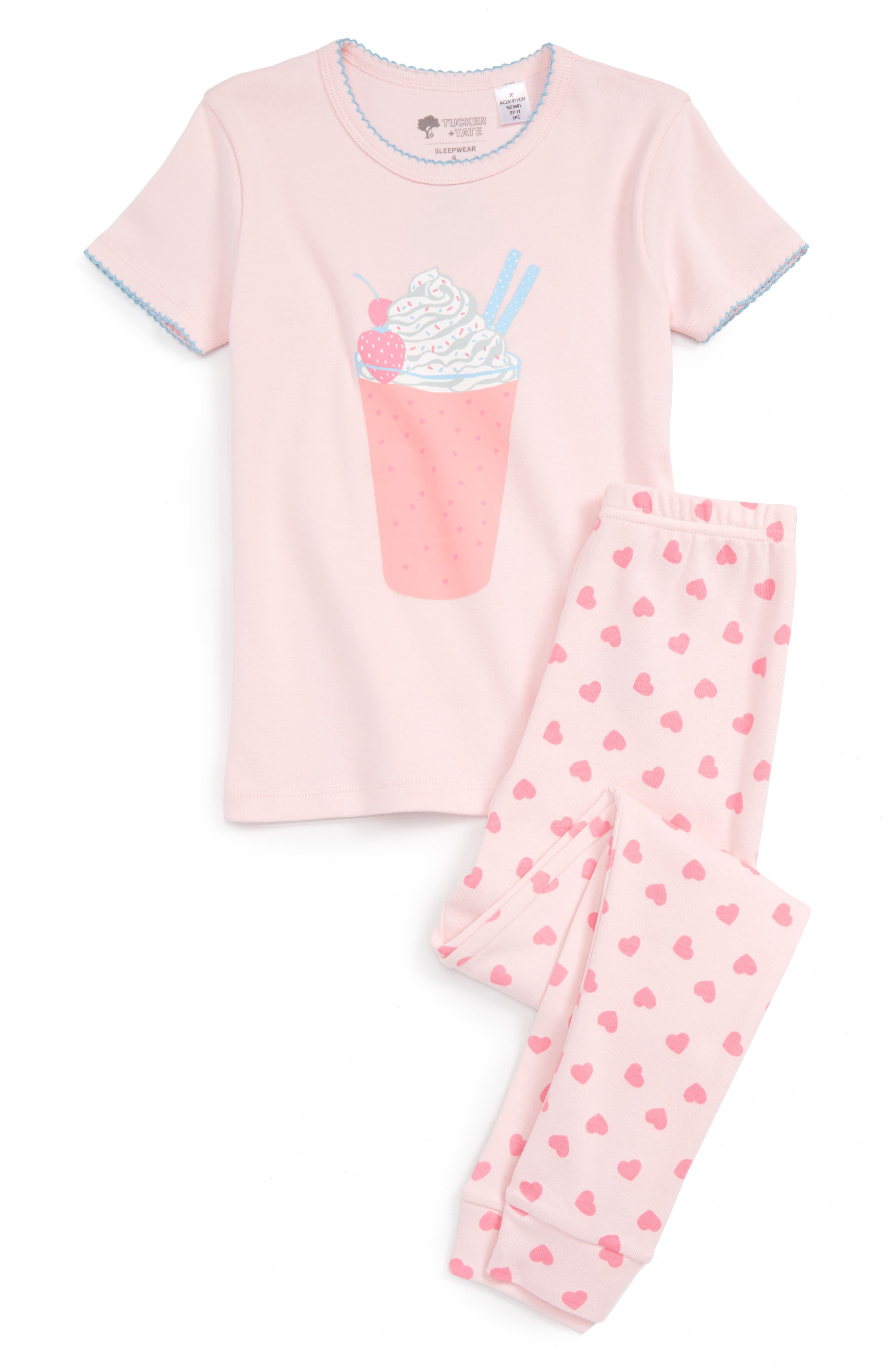 TUCKER + TATE Two-Piece Fitted Pajamas