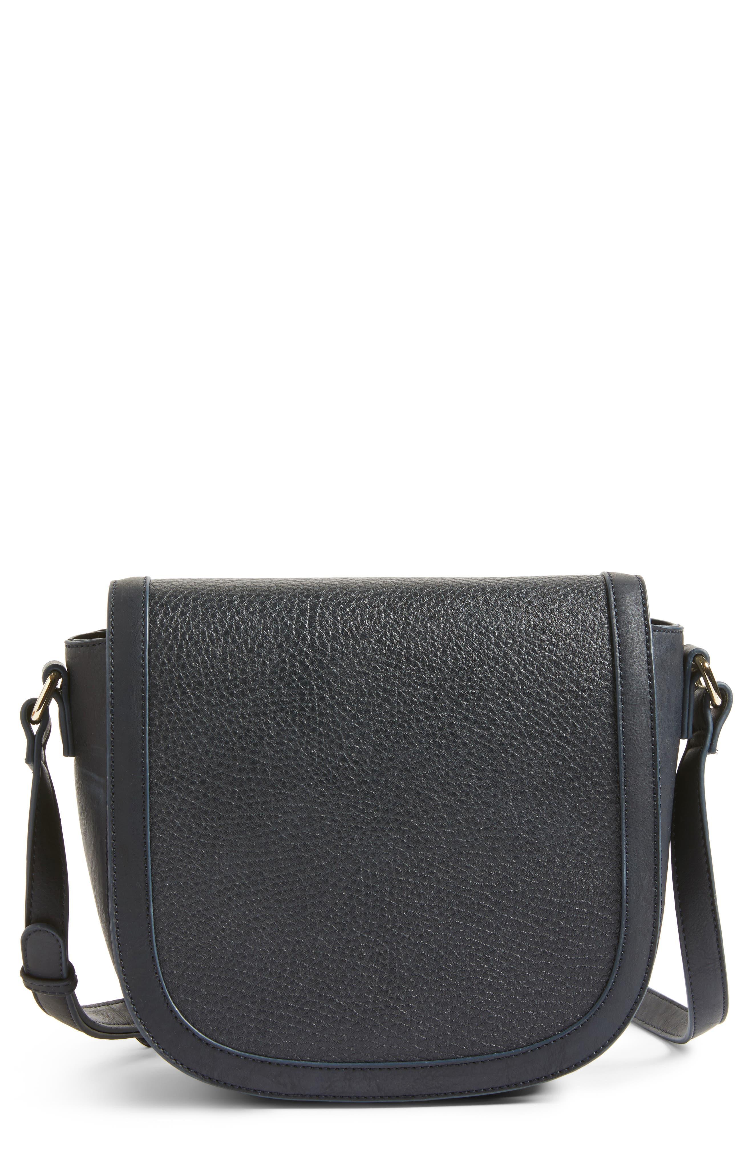 Sole Society Finnigan Faux Leather Crossbody Bag