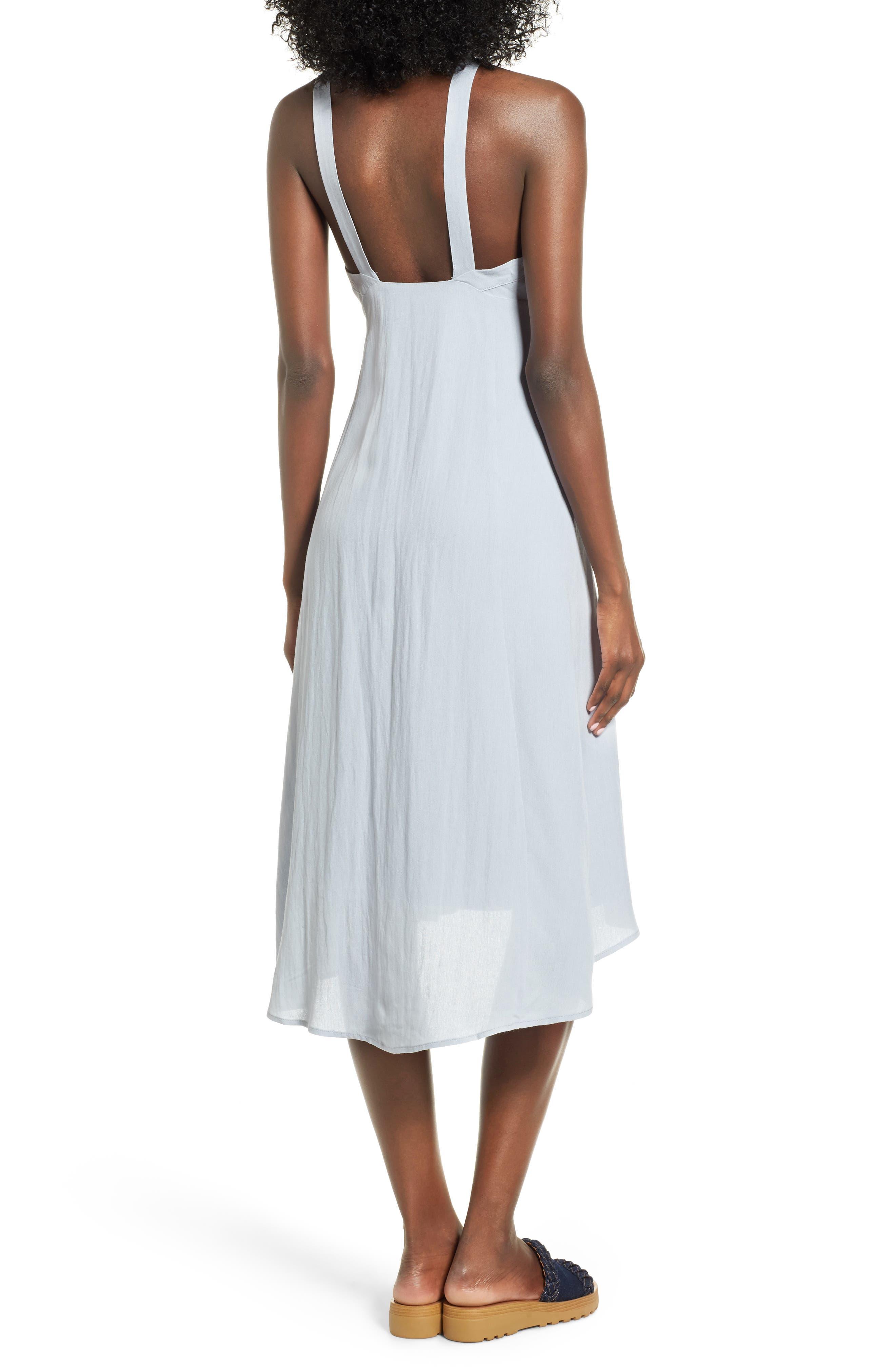 Alternate Image 2  - ASTR the Label Tie Front Midi Dress