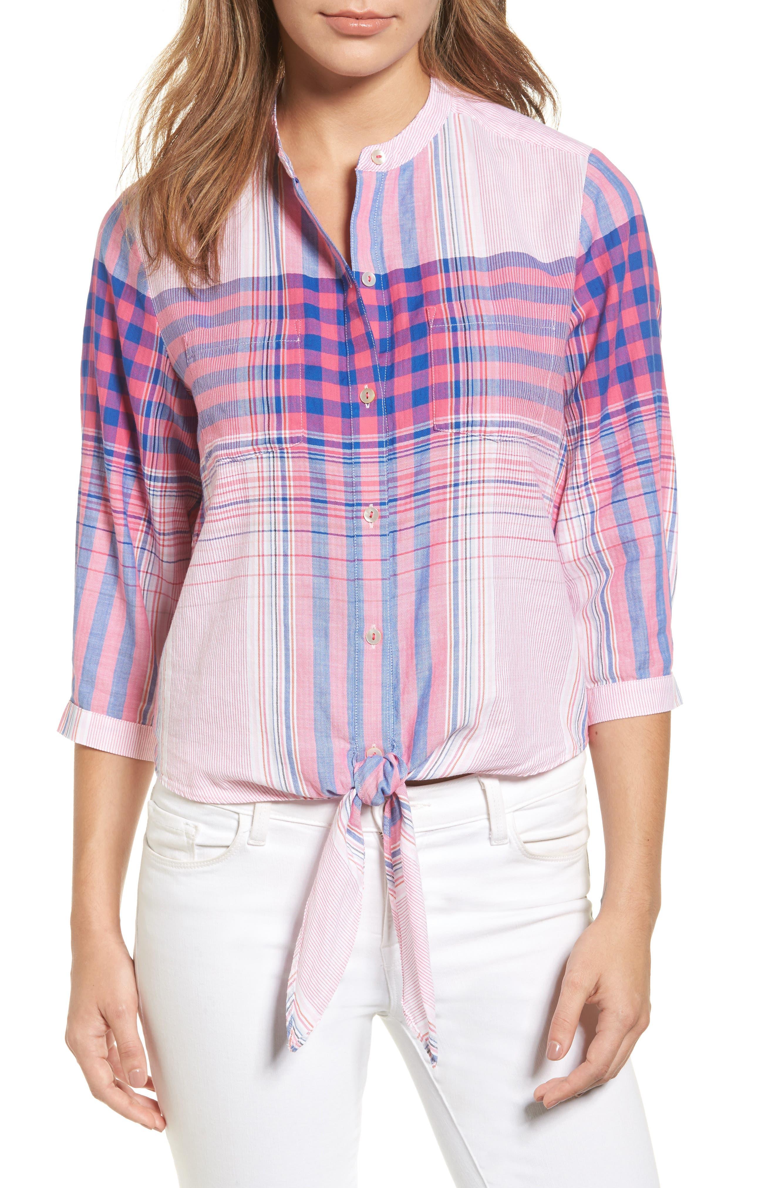 Tommy Bahama Plaid Shirt