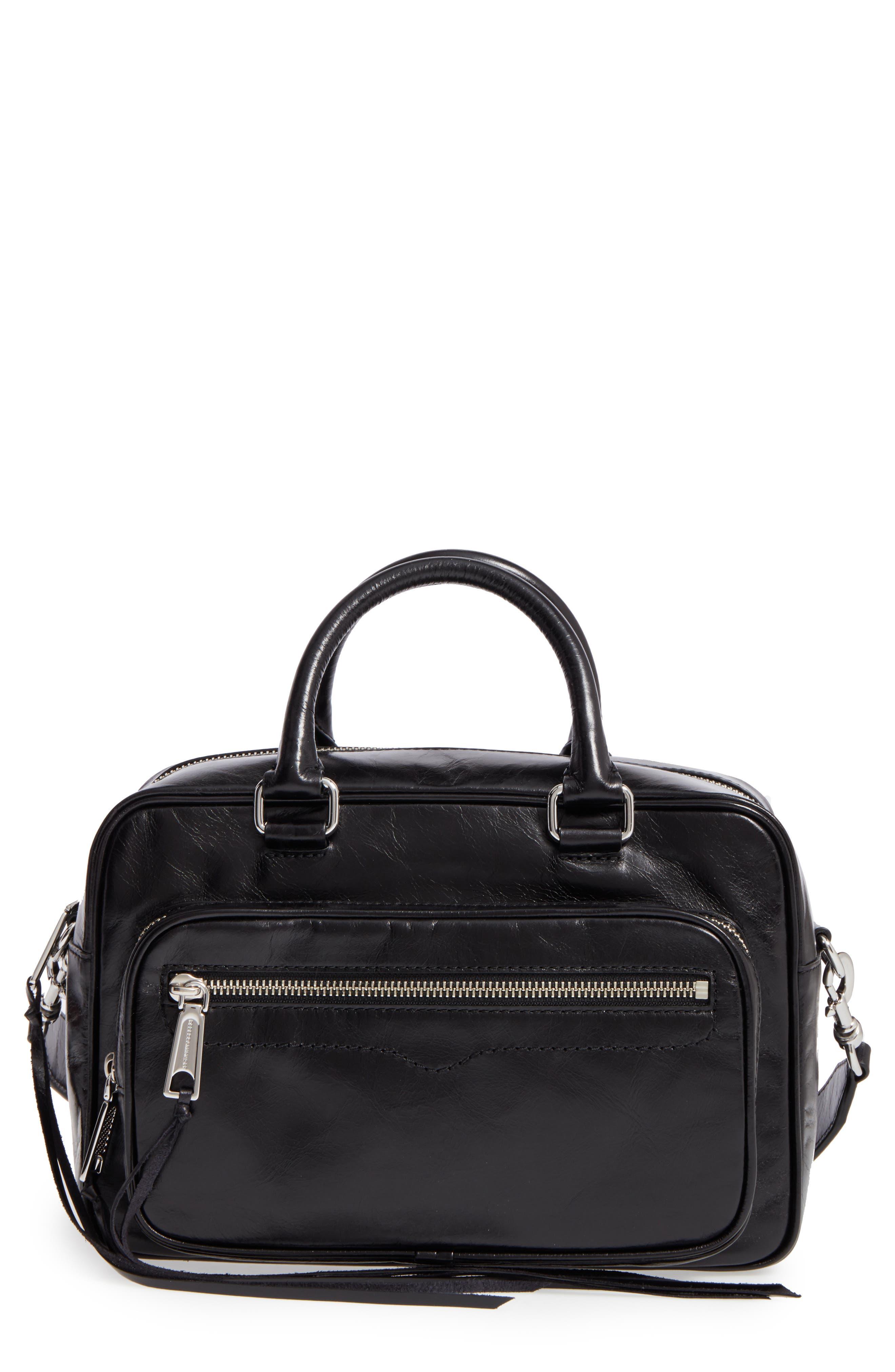 Rebecca Minkoff Solstice Leather Crossbody Duffel Bag