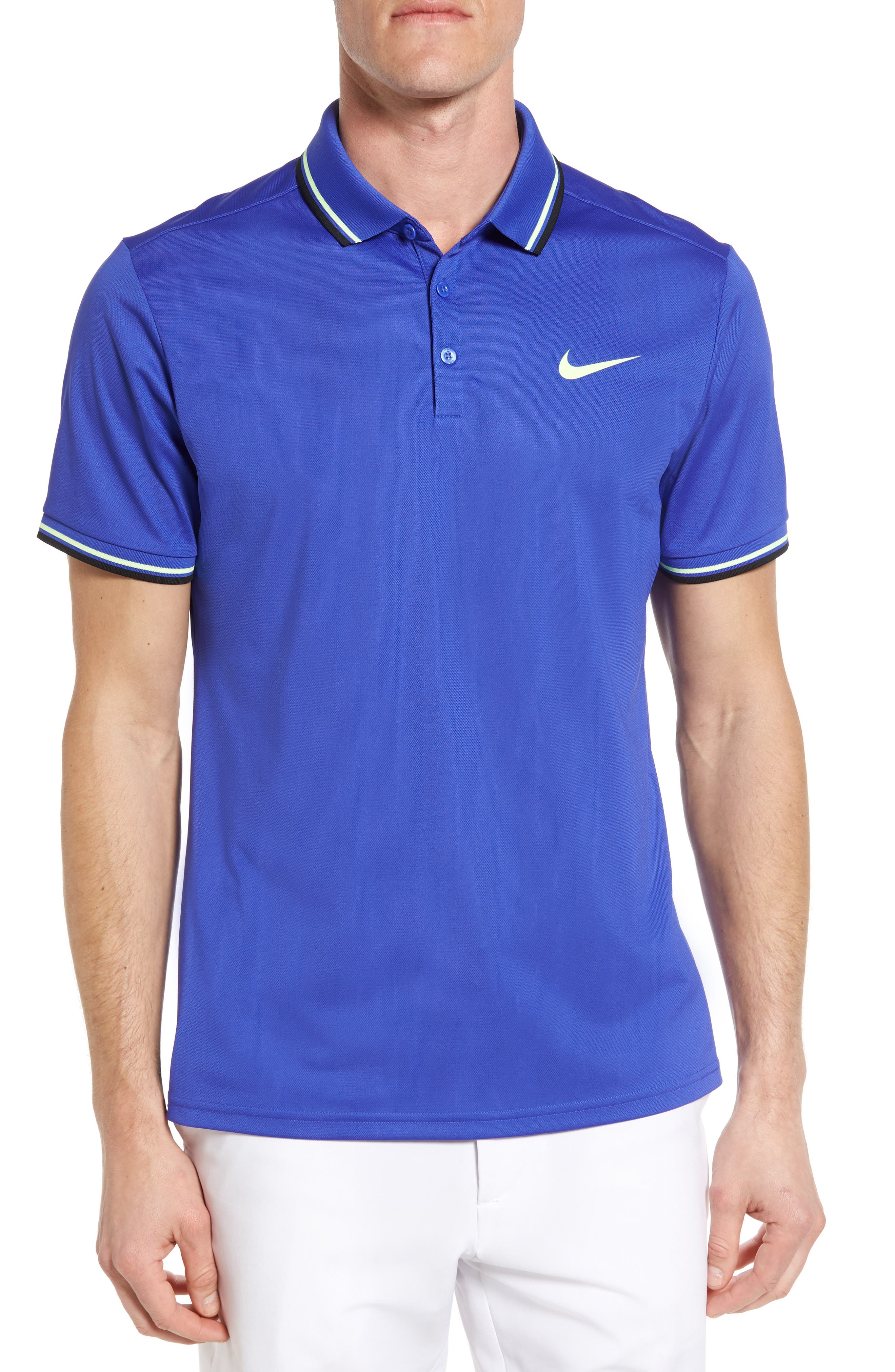 Nike Court Regular Fit Dri-FIT Tennis Polo