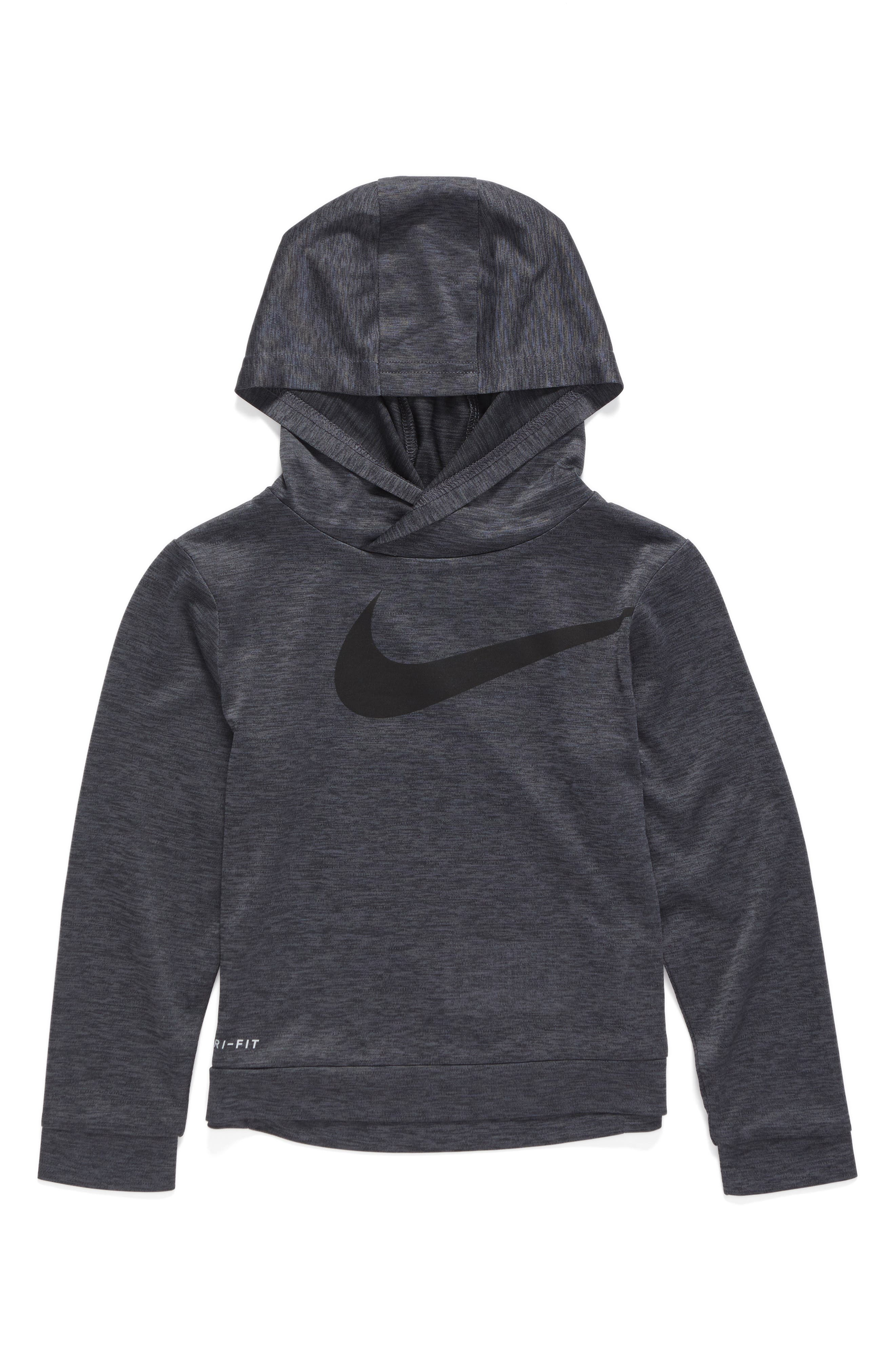 Nike Swoosh Dri-FIT Hoodie (Toddler Boys & Little Boys)