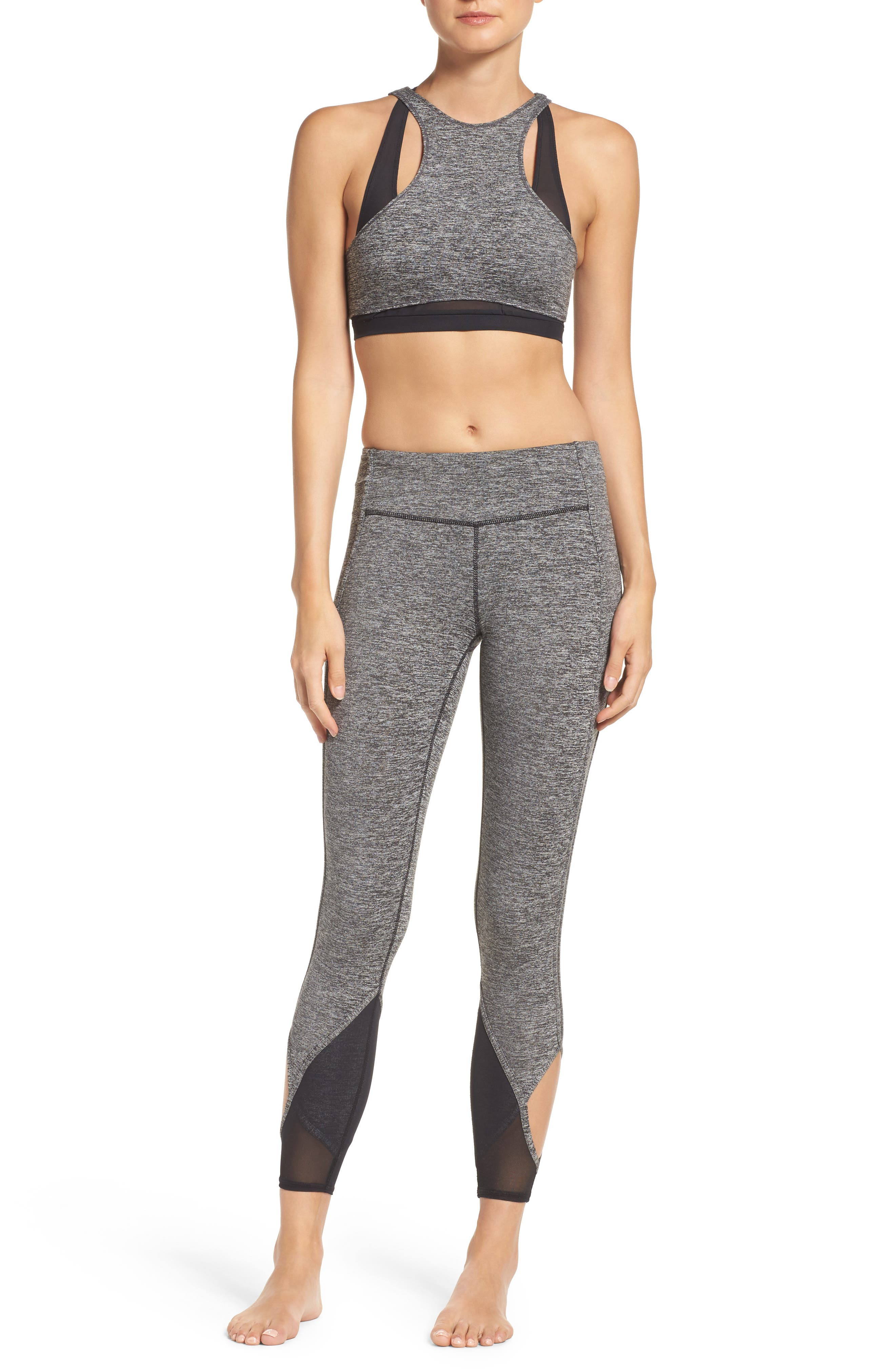 Free People Sports Bra & Leggings Outfit