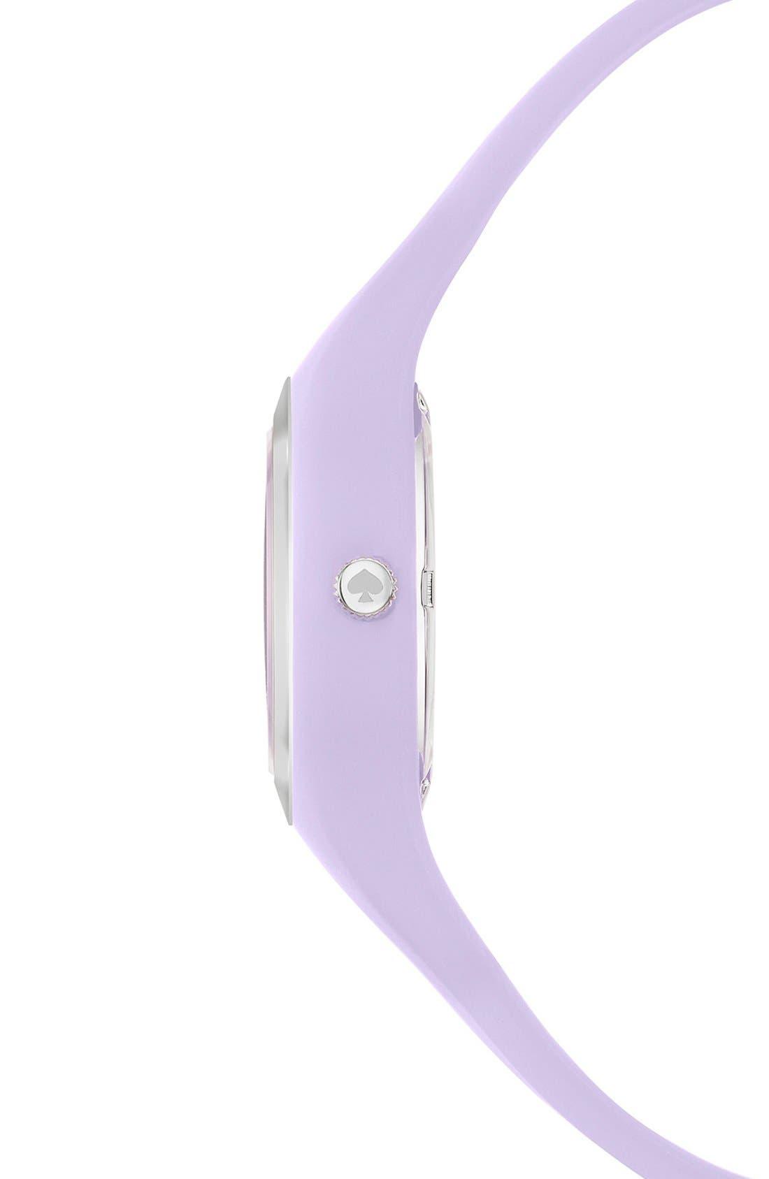 Alternate Image 3  - kate spade new york 'rumsey' plastic strap watch, 30mm