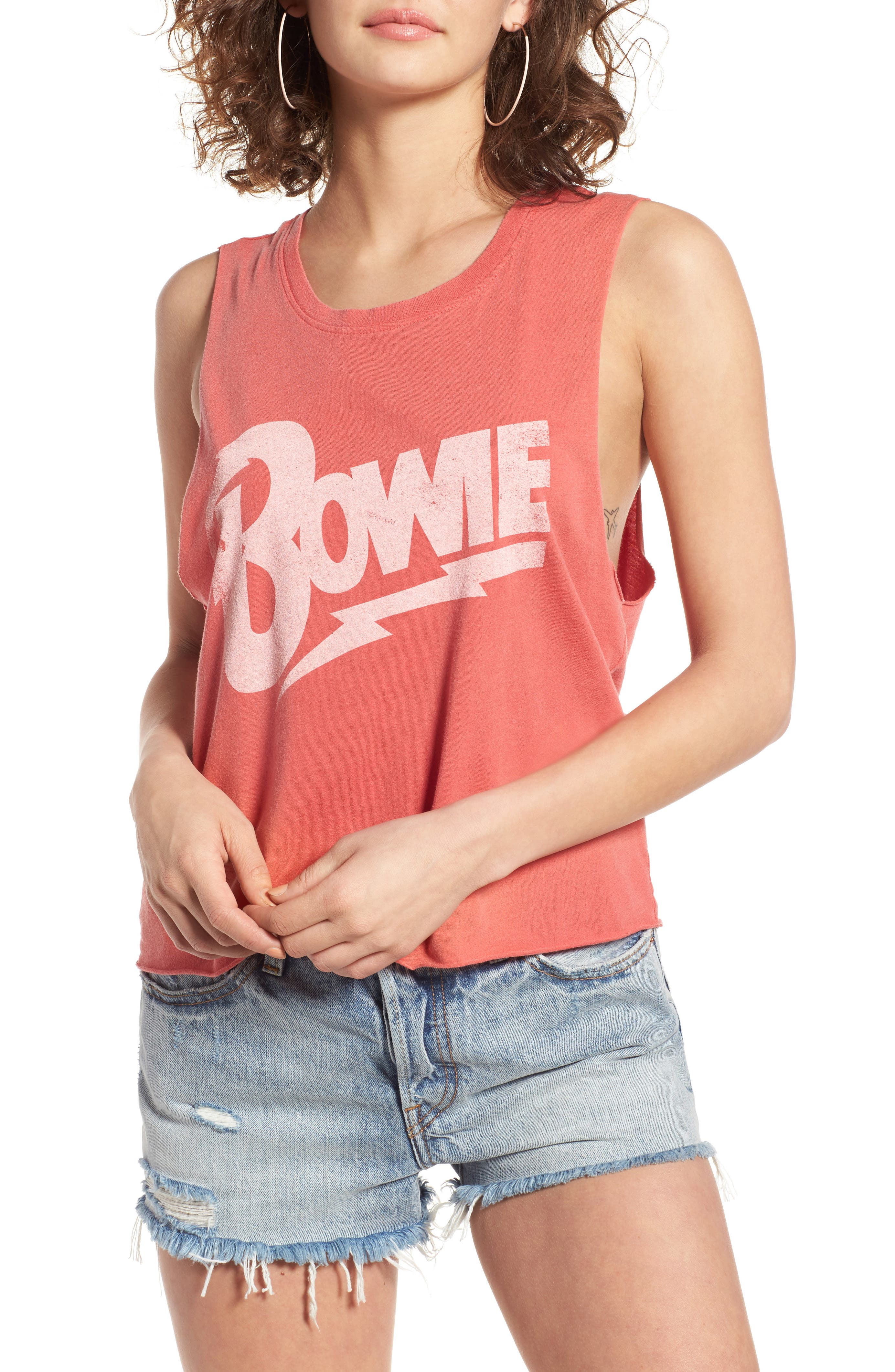 Main Image - Daydreamer Bowie Let's Dance Muscle Tee