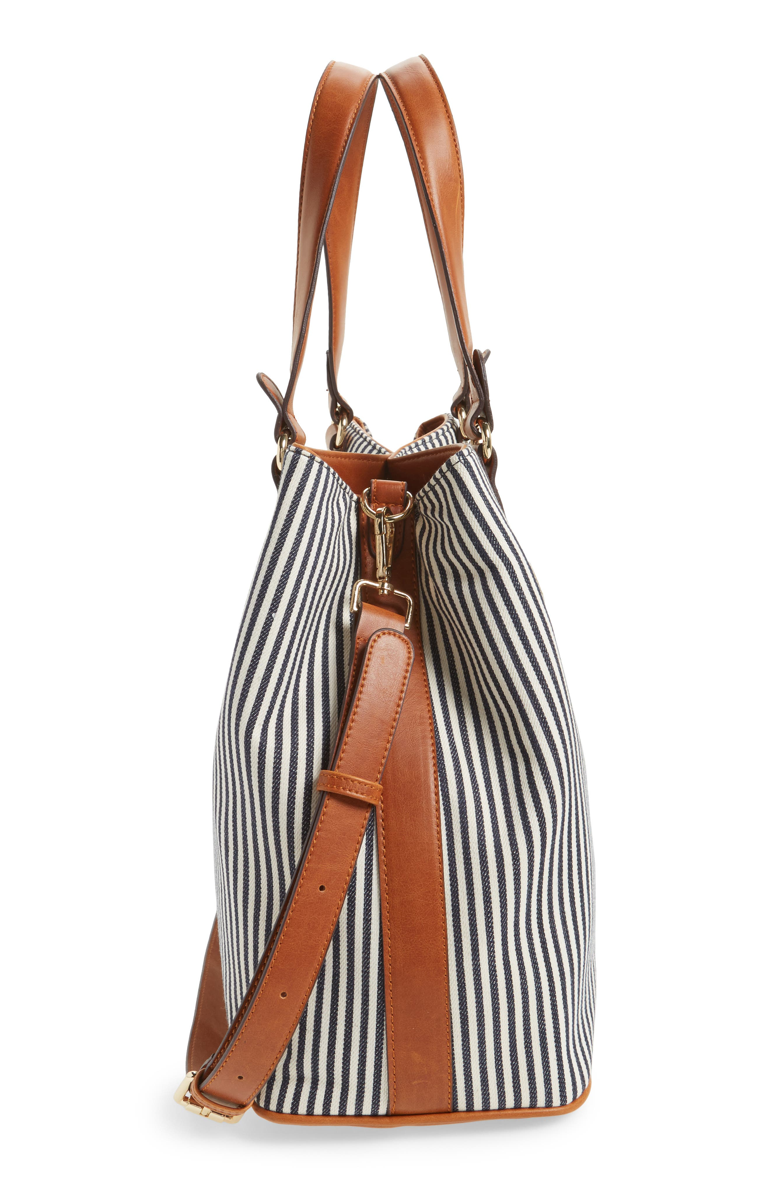 Alternate Image 3  - Sole Society 'Nina' Belted Geo Tote