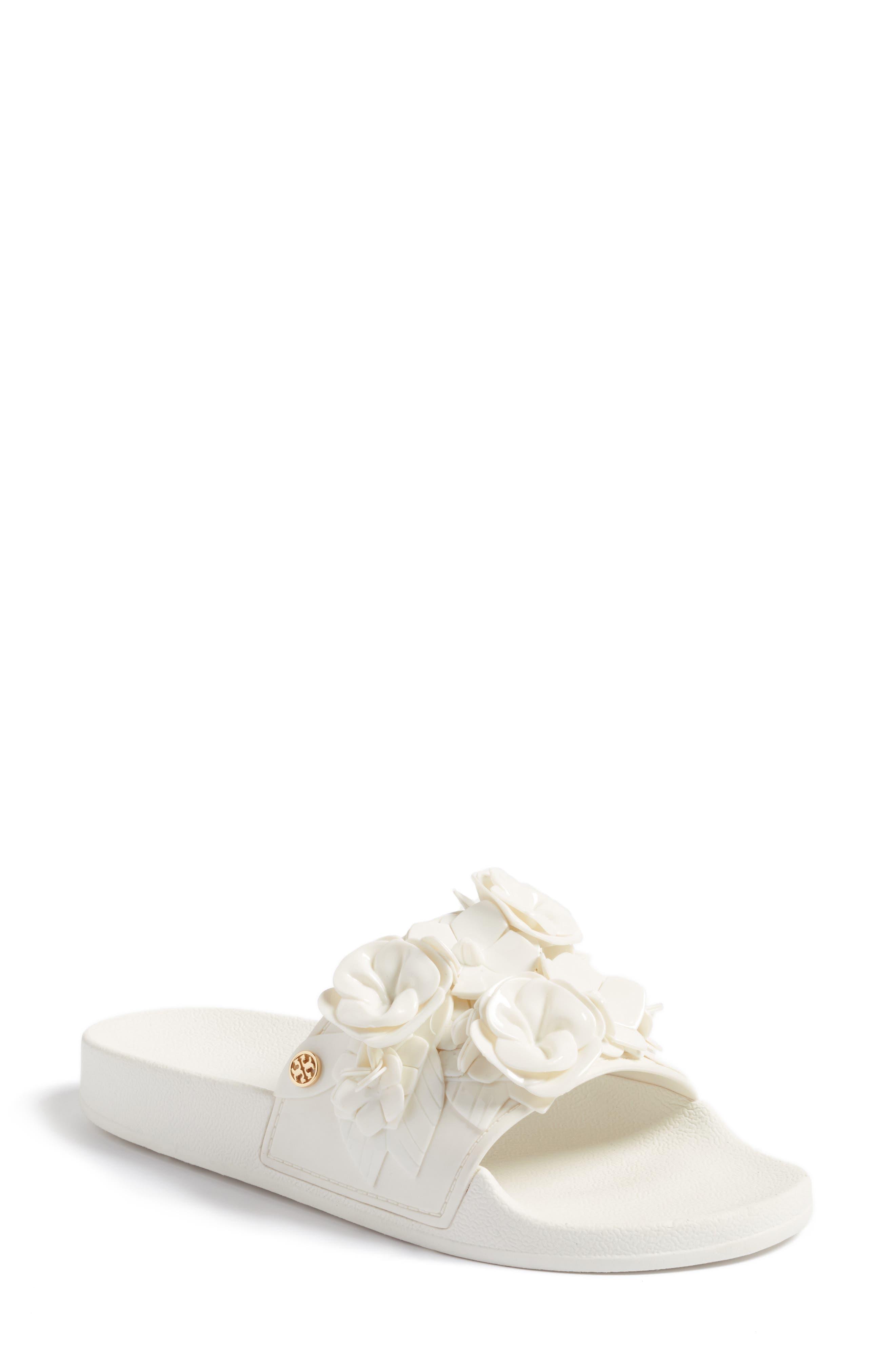 Tory Burch Blossom Slide Sandal (Women)
