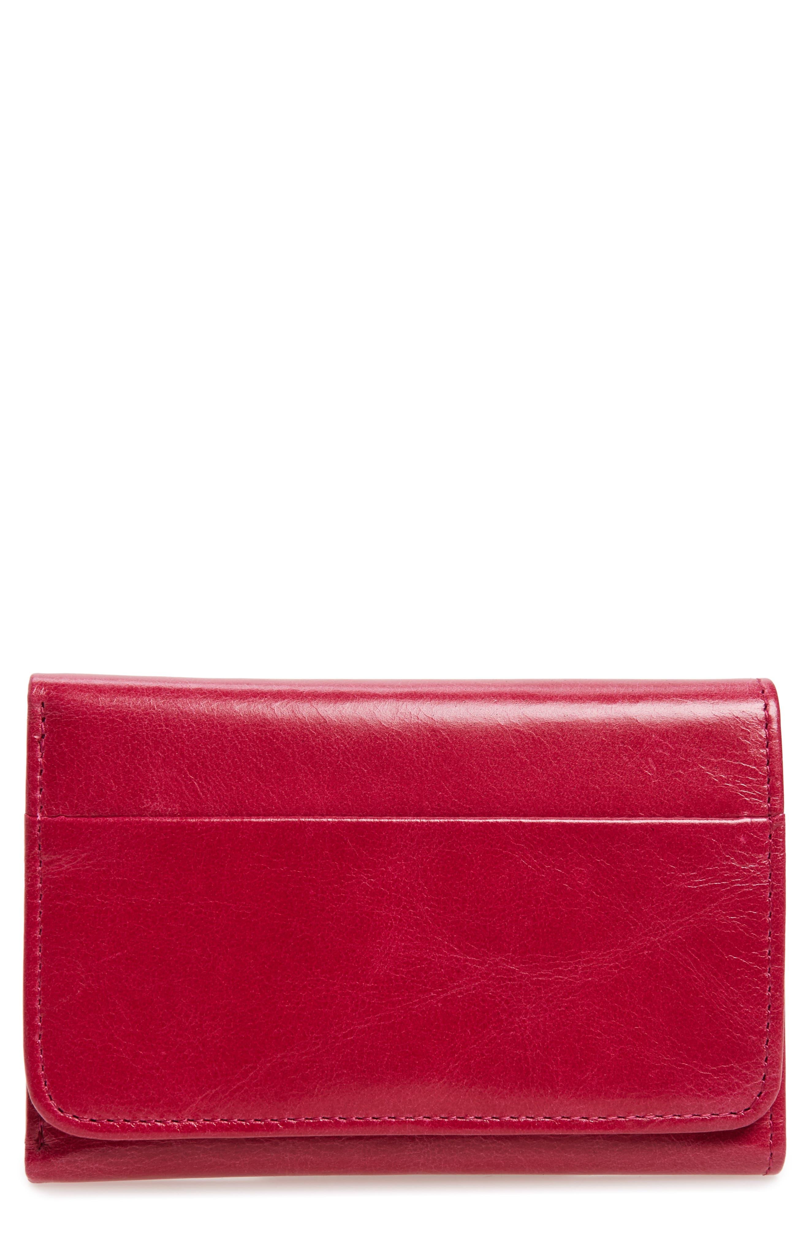 Main Image - Hobo 'Jill' Trifold Wallet