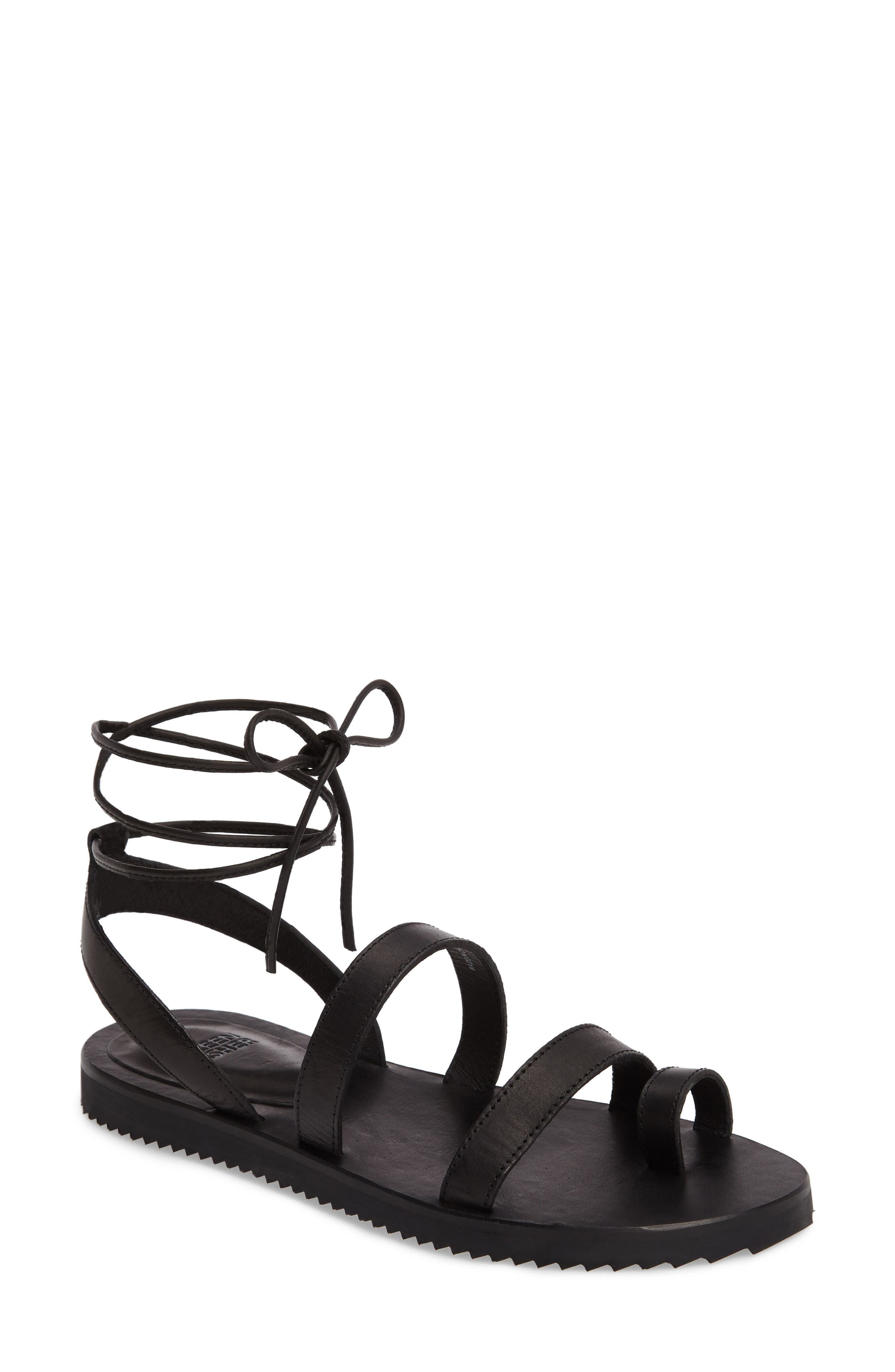 Main Image - Eileen Fisher Wales Lace-Up Sandal (Women)