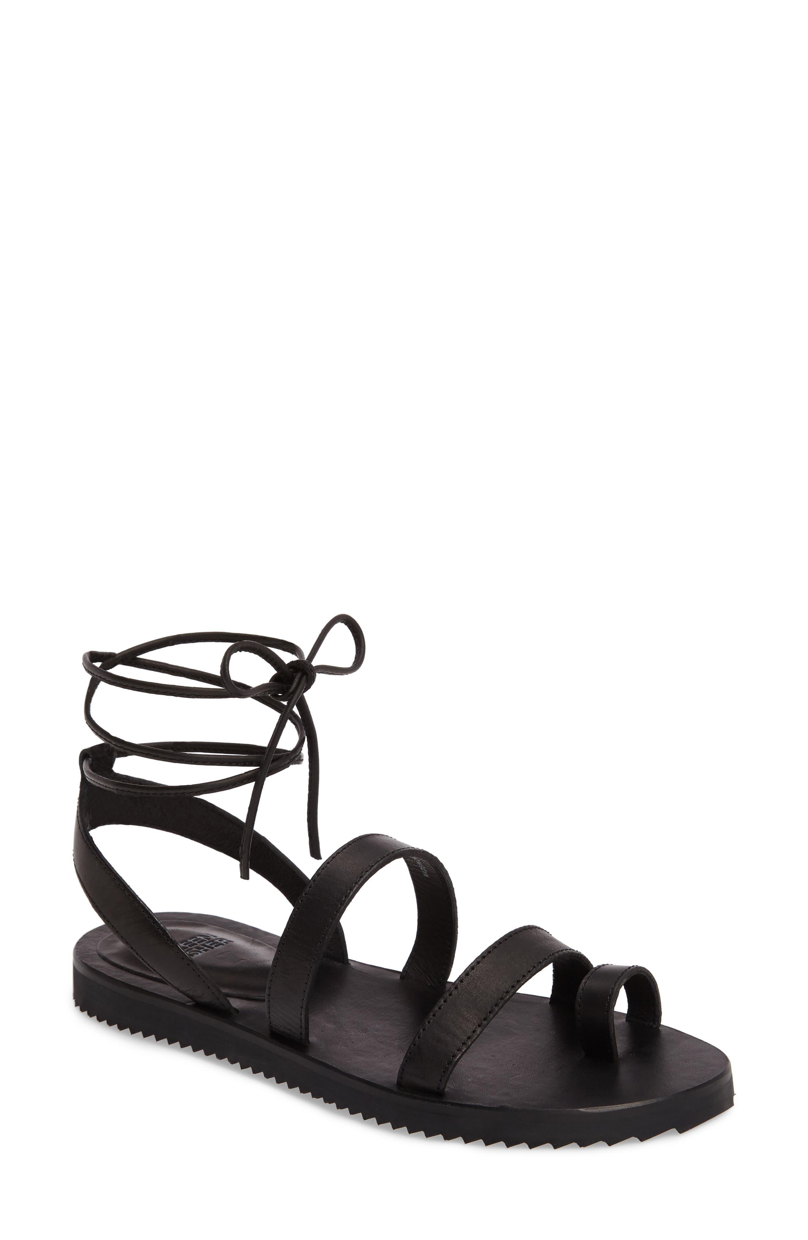 Eileen Fisher Wales Lace-Up Sandal (Women)