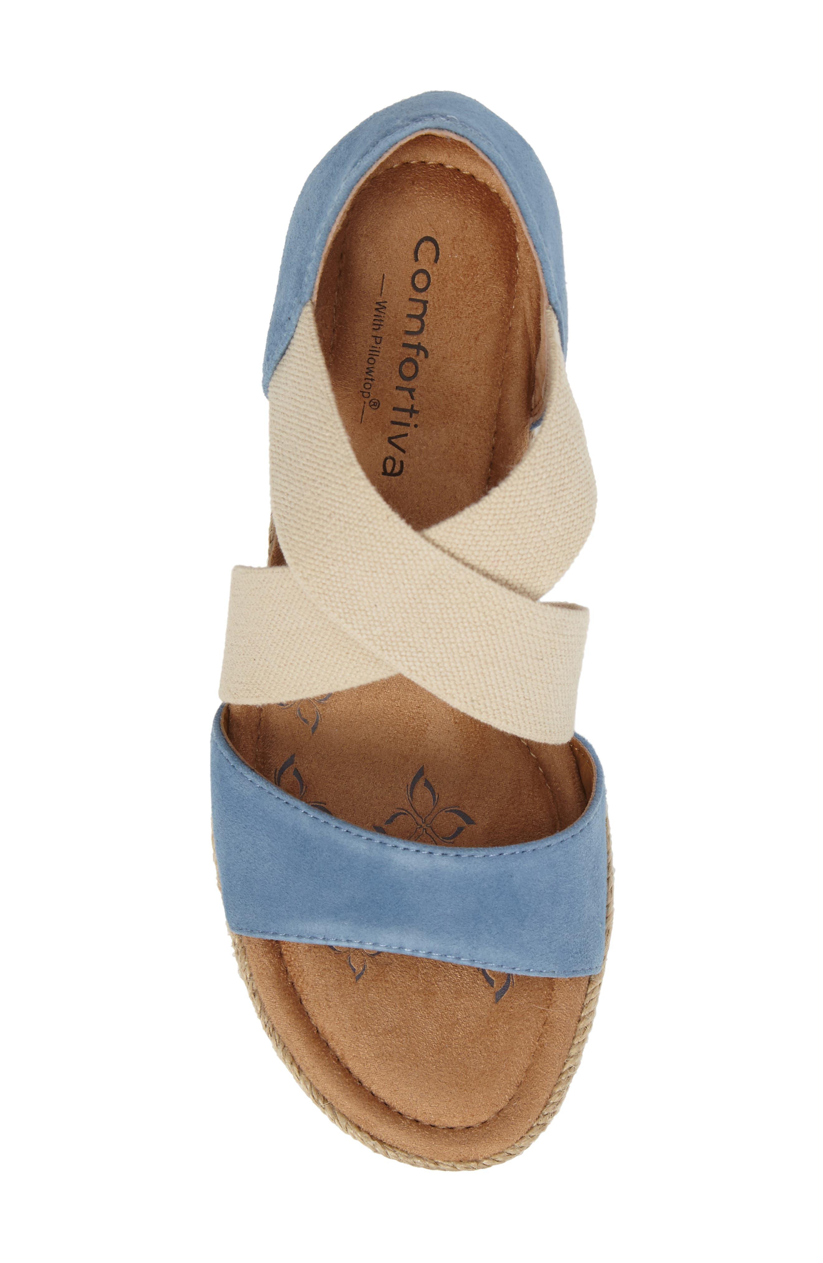 Alternate Image 5  - Comfortiva Brye Espadrille Sandal (Women)