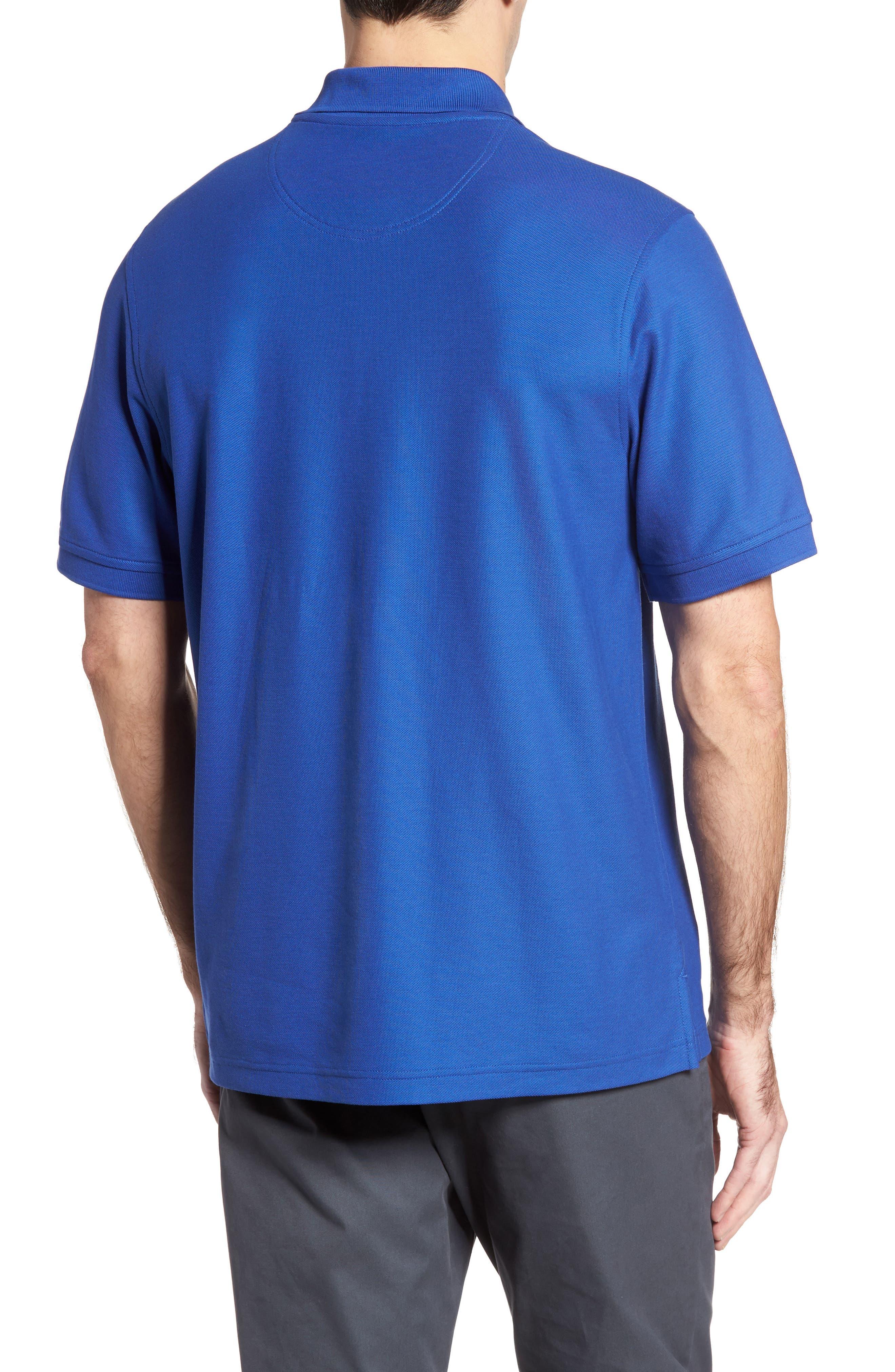 Alternate Image 2  - Nordstrom Men's Shop 'Classic' Regular Fit Piqué Polo (Big)